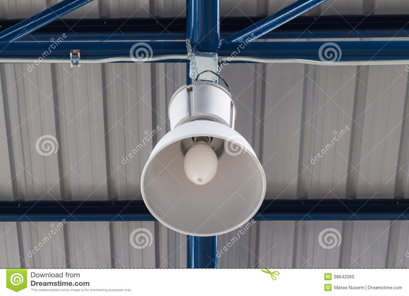 Overhead Light Stock Photo