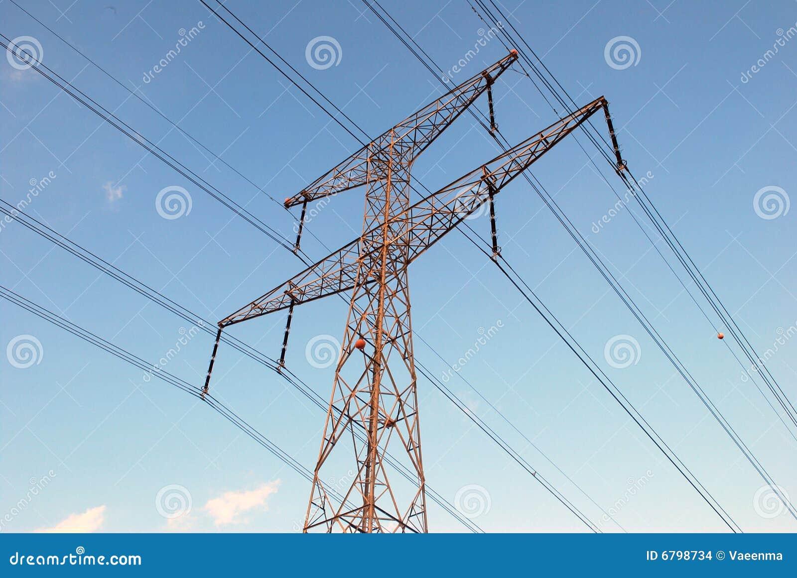 Overhead Power Line : Overhead power line stock images image