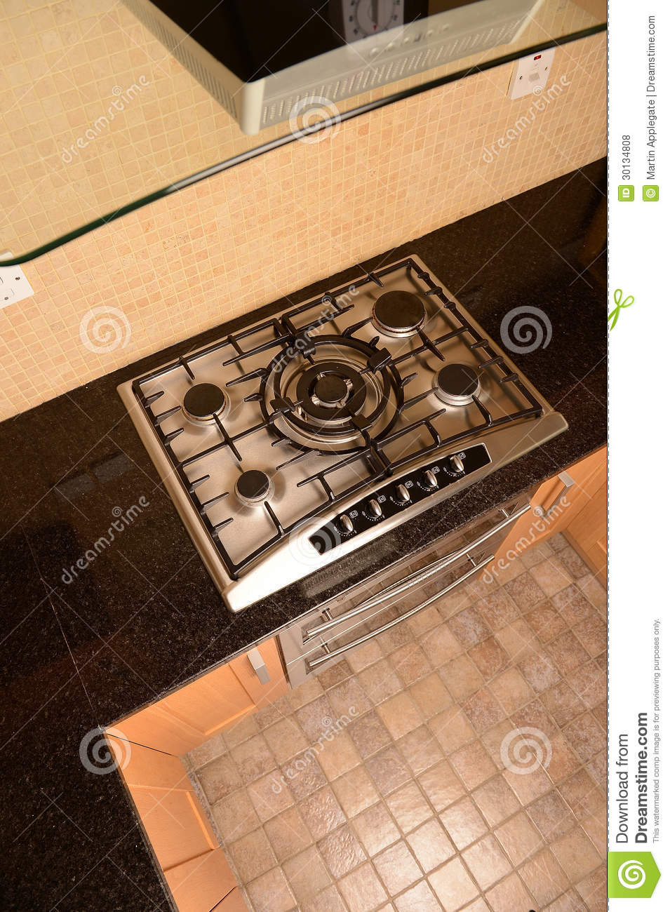 Kitchen Hob Side View ~ Kitchen oven and hob royalty free stock photos image