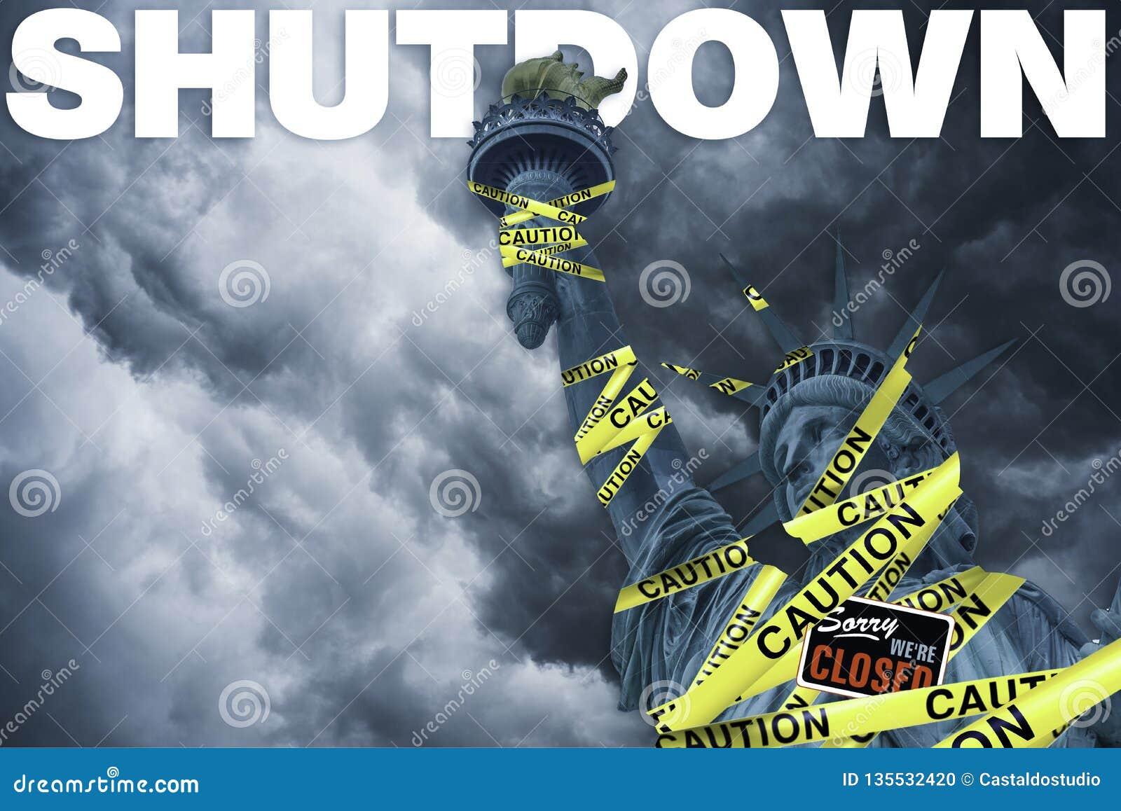 Overheidssluitingen in de Verenigde Staten