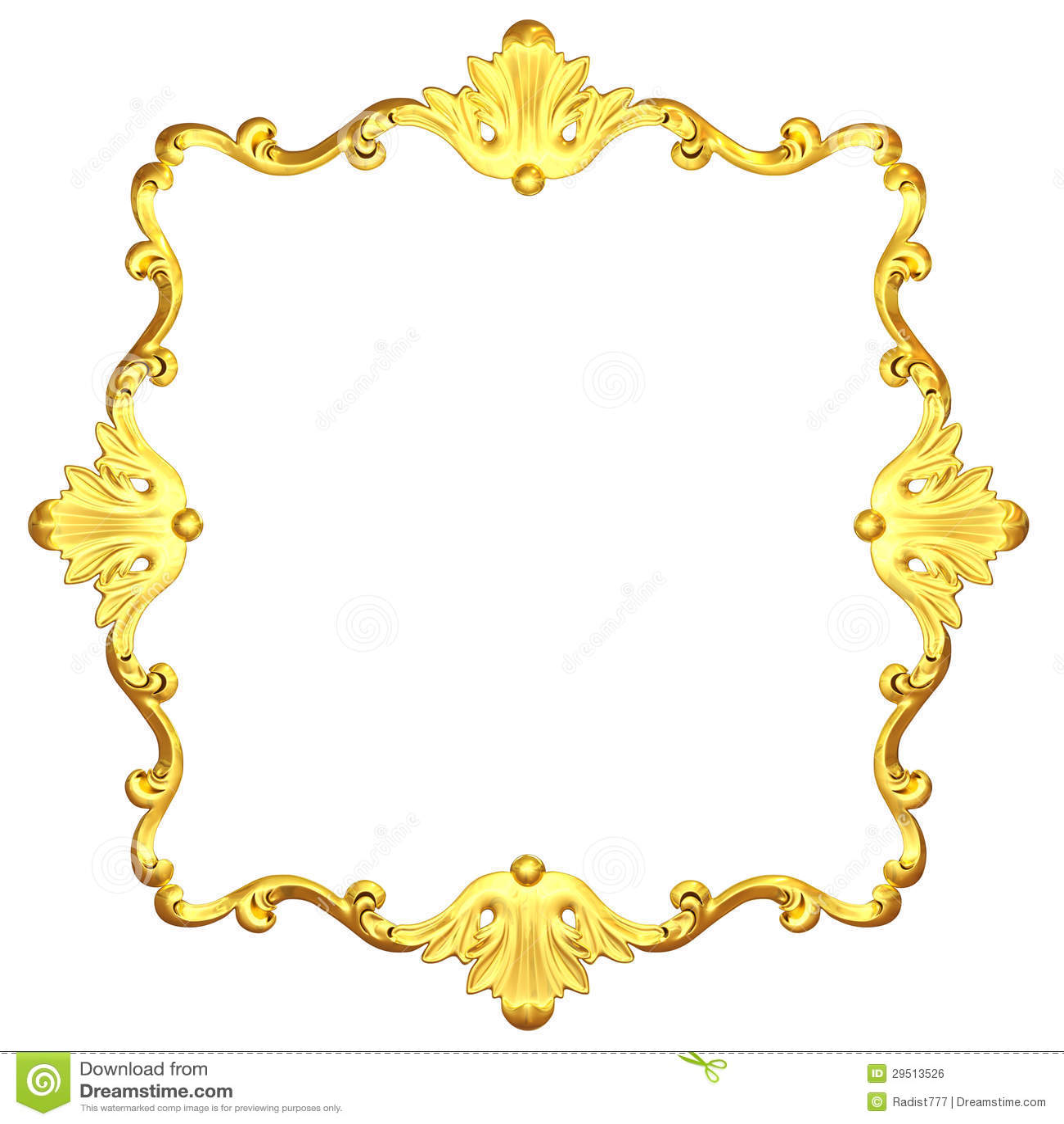 Overladen goud