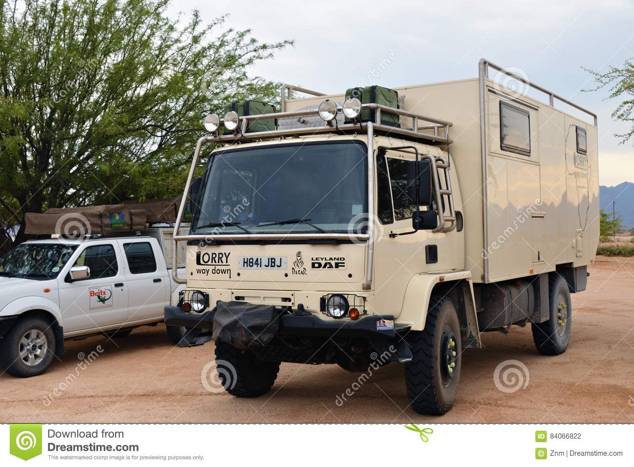 Overlanding In Namibia Africa Editorial Photography Image Of Parked Distance 84066822