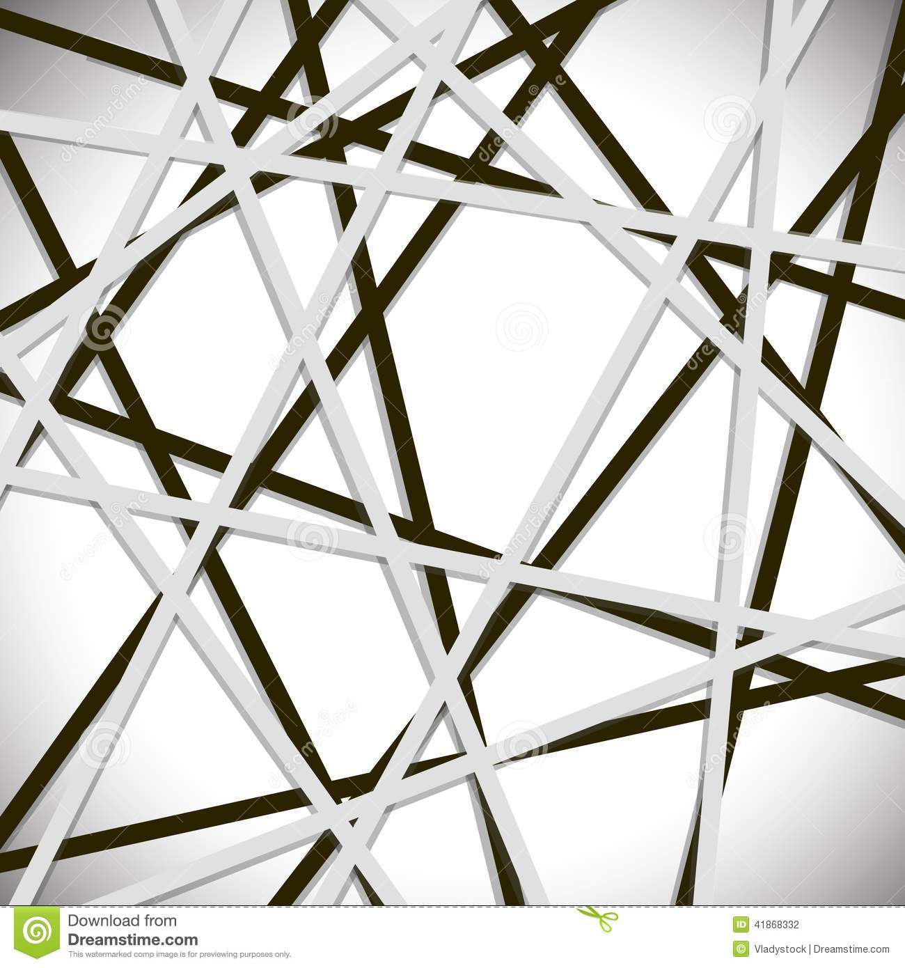 Overlapping Lines Background Stock Vector - Image: 41868332