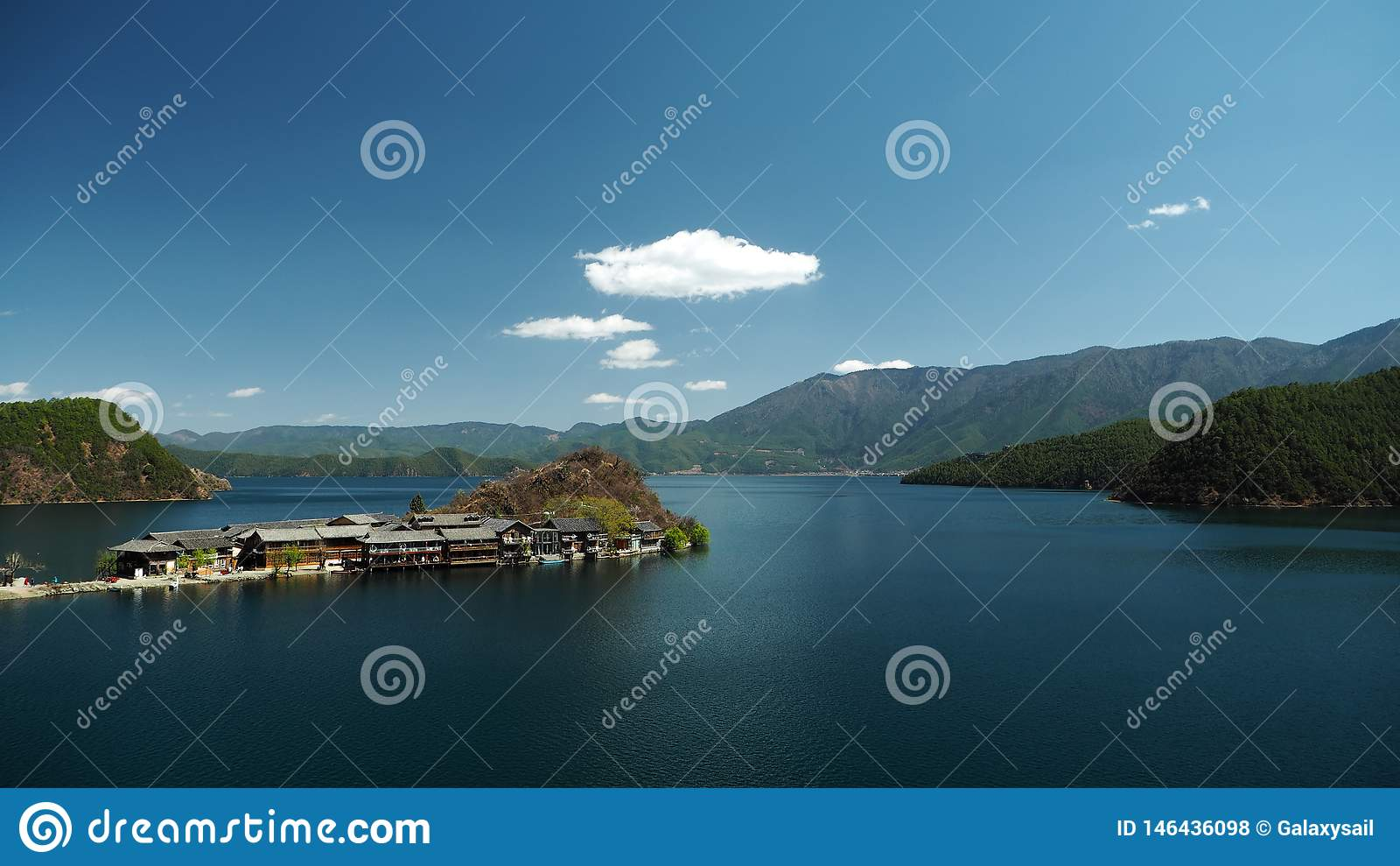 Overlook Lige Peninsula in lugu Lake