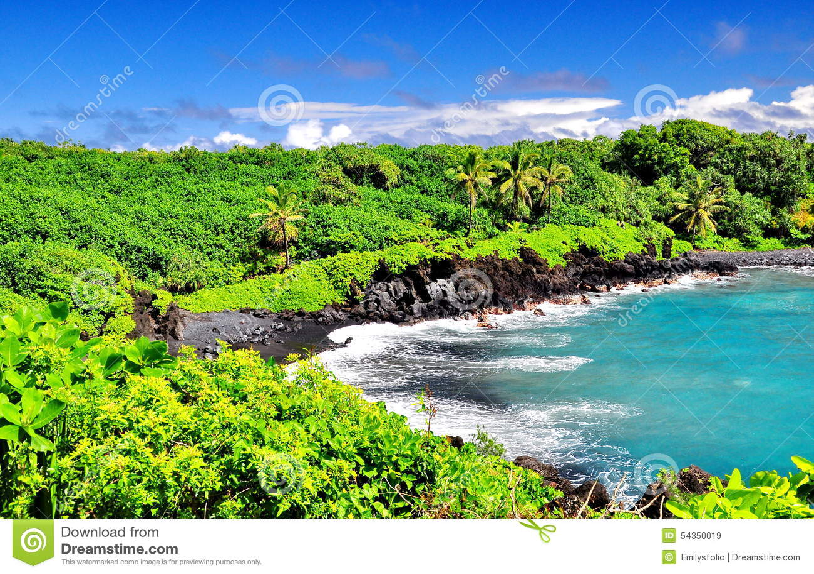 Overlooking Hawaii