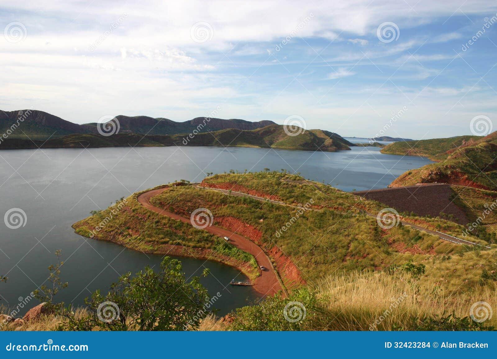 Kununurra Australia  city photos gallery : Overlooking Lake Argle, Kununurra, Western Australia Stock Images ...