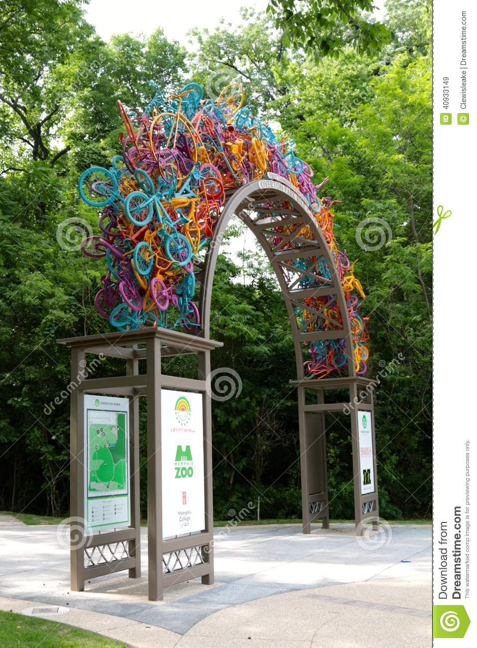 Bikes Memphis Tn Overton Bike Gate made of