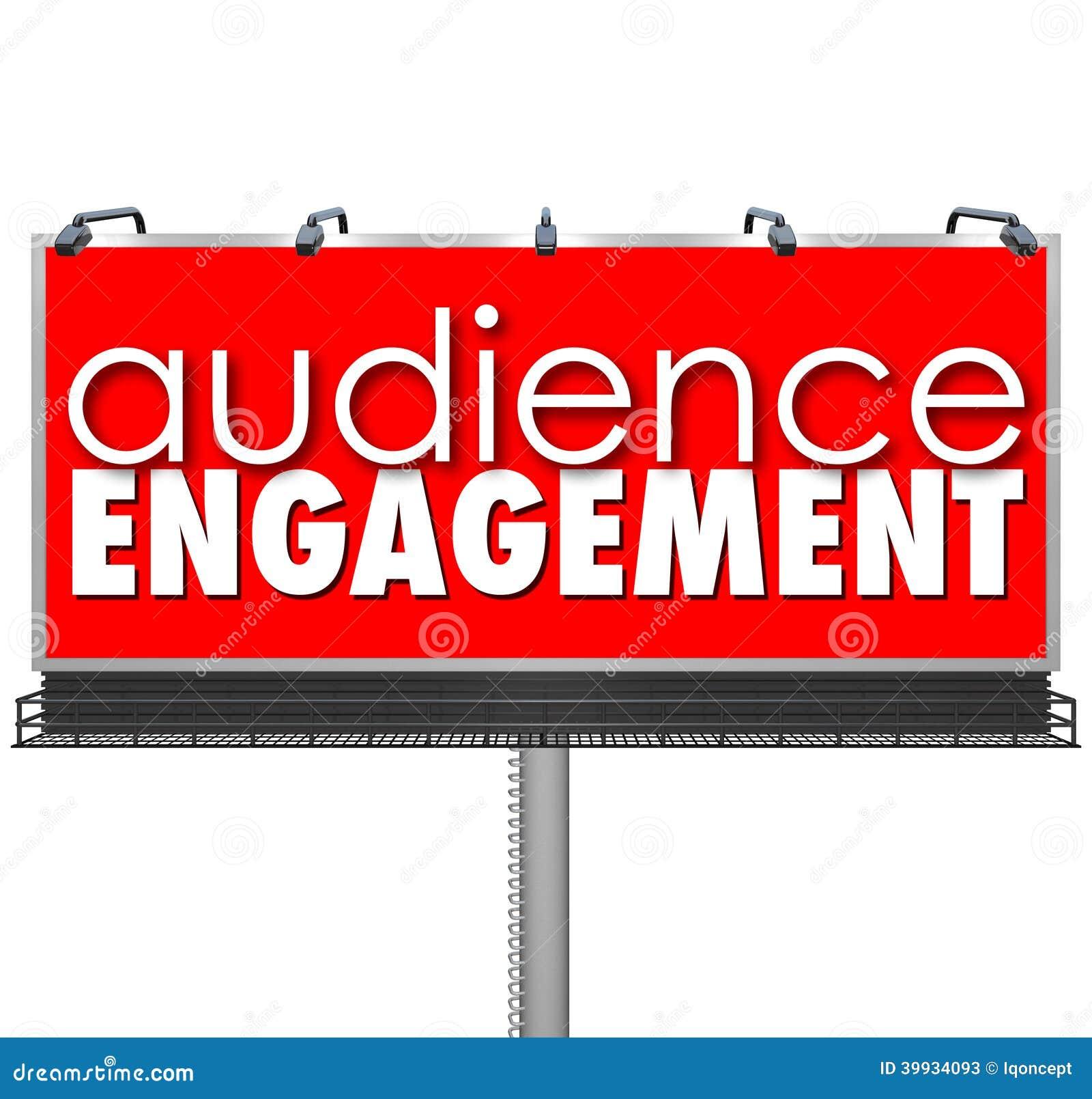 Overtreffen de het Aanplakbord Adverterende Klanten van publieksengagment