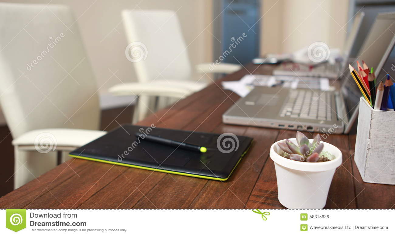 Overview Of Graphic Designer Desk Stock Footage   Video Of High, Stylus:  58315636