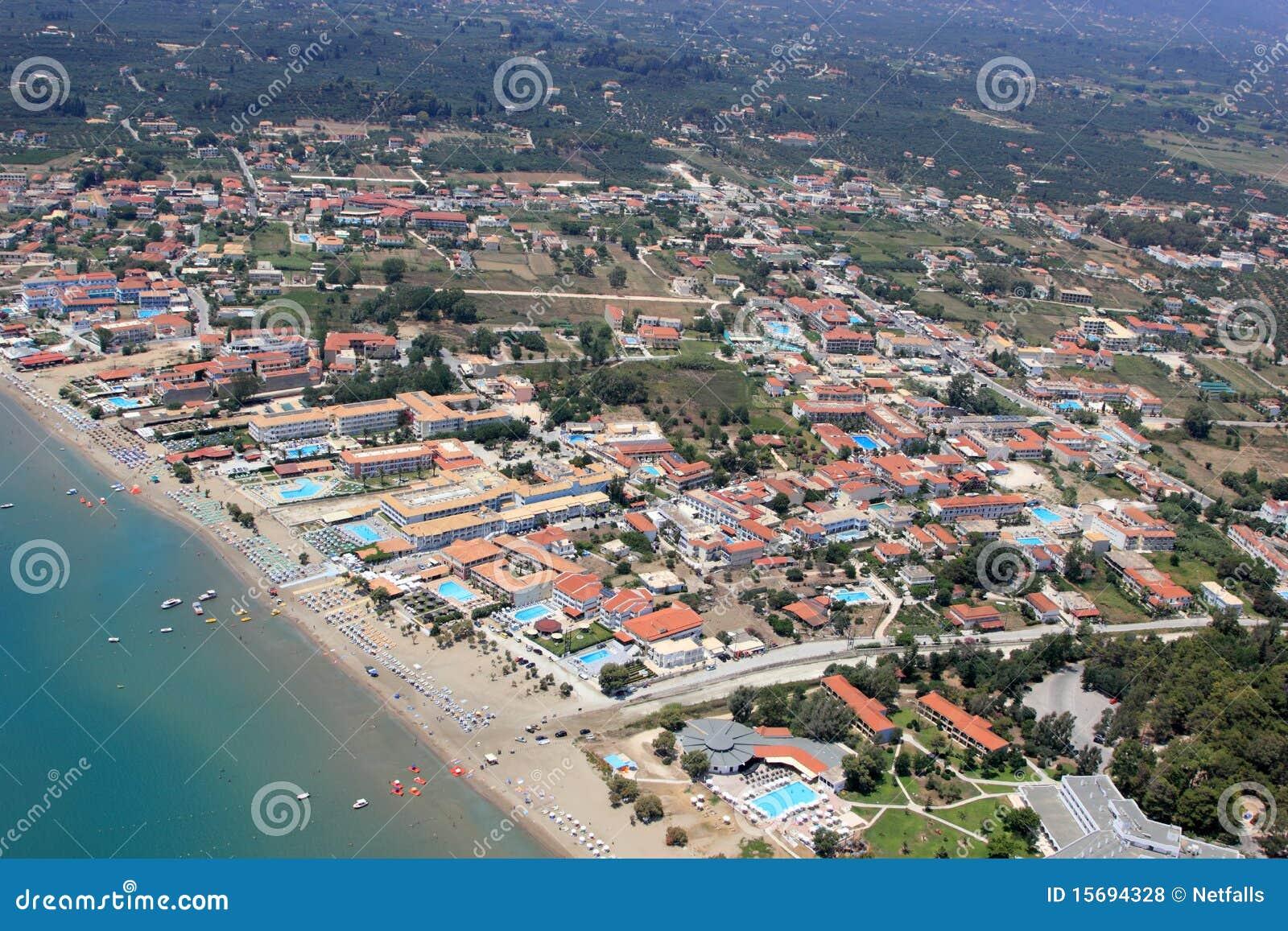 Overview on Zakynthos island