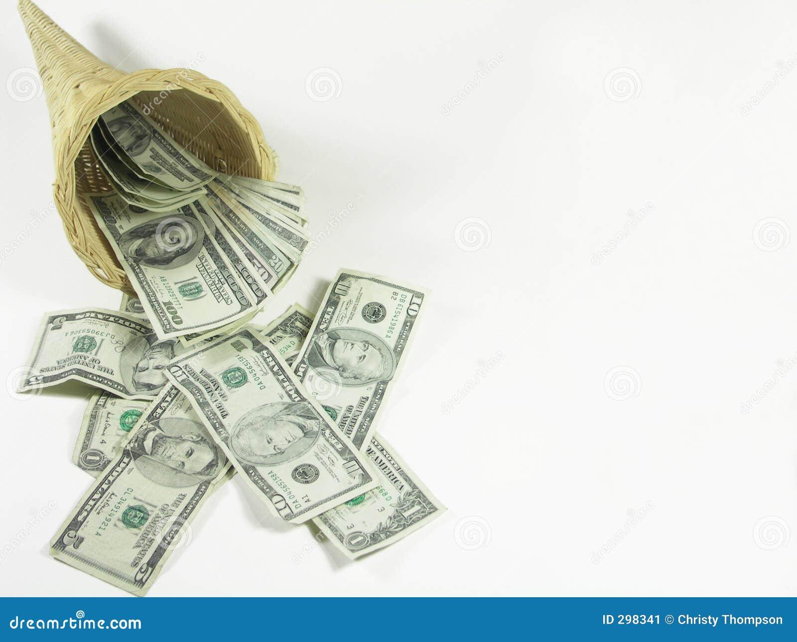 Overvloed van geld