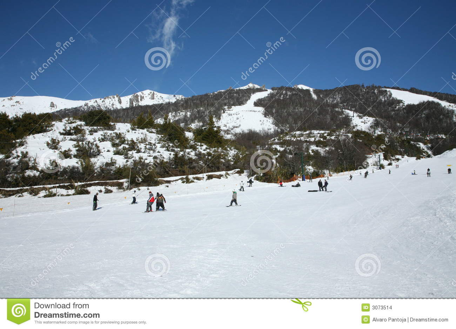 Overvolle skitoevlucht
