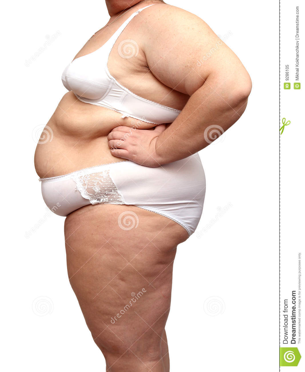 Lingerie for obese women