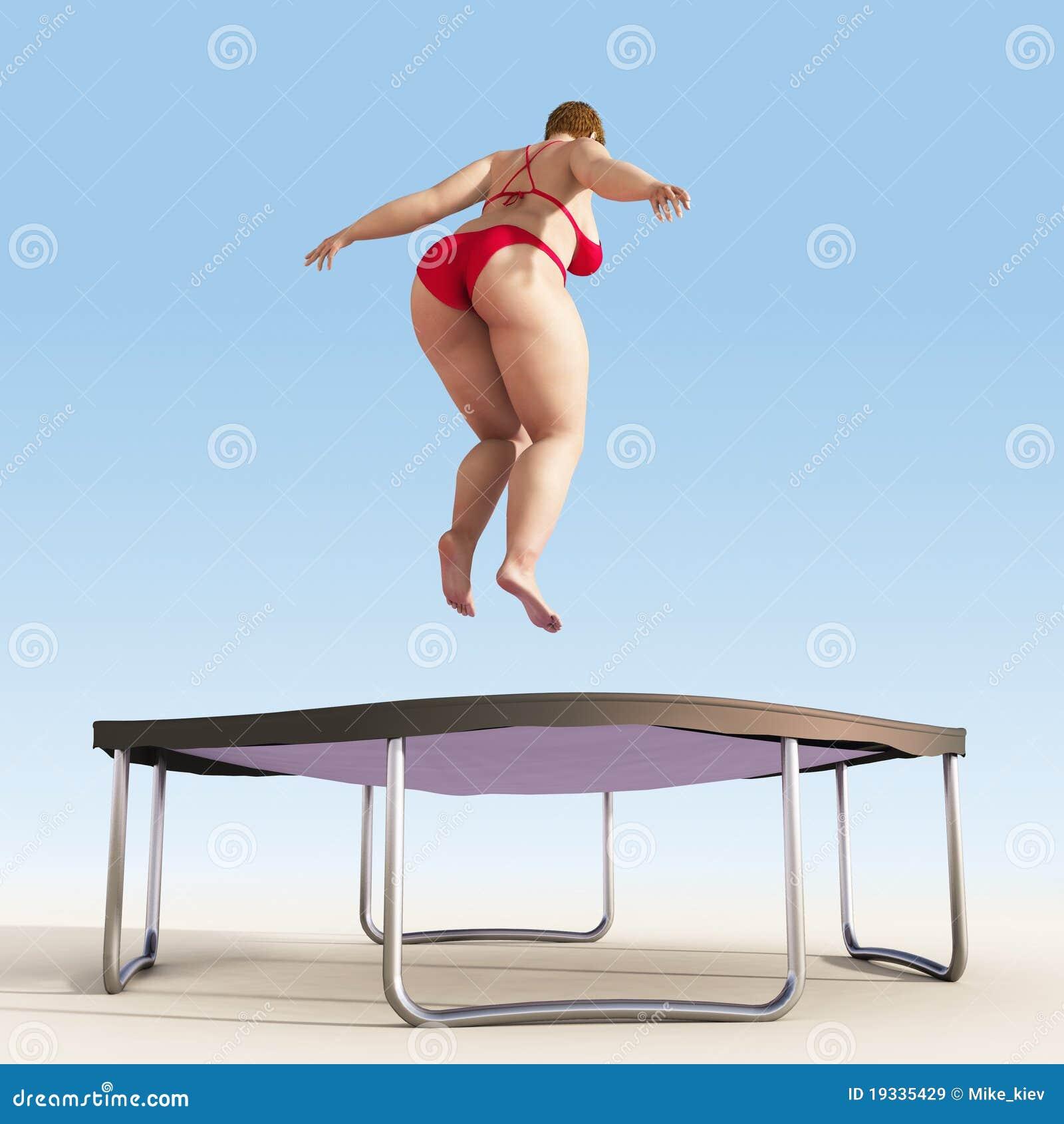 girls-in-bikinis-on-trampolines-woman-wanks-cock