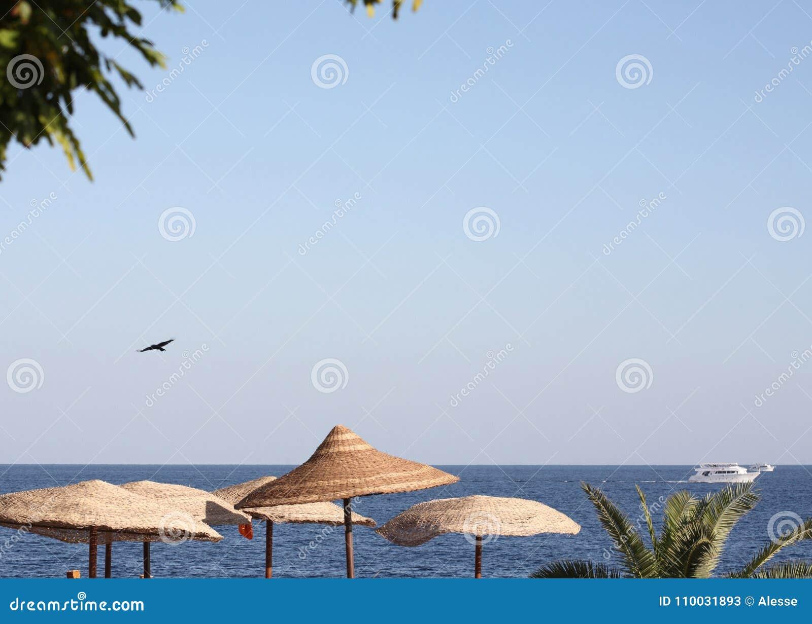 Overzees landschap, Egypte, Sharm el Sheikh