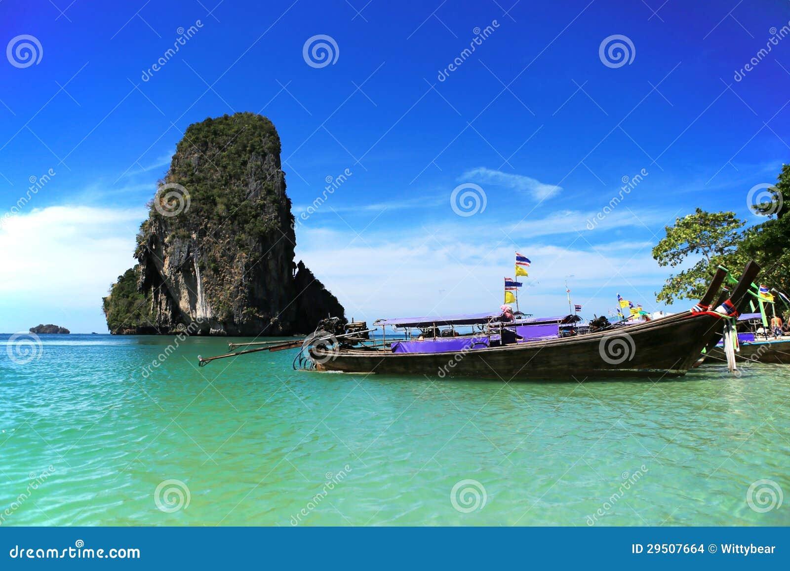 Overzees van krabi Thailand