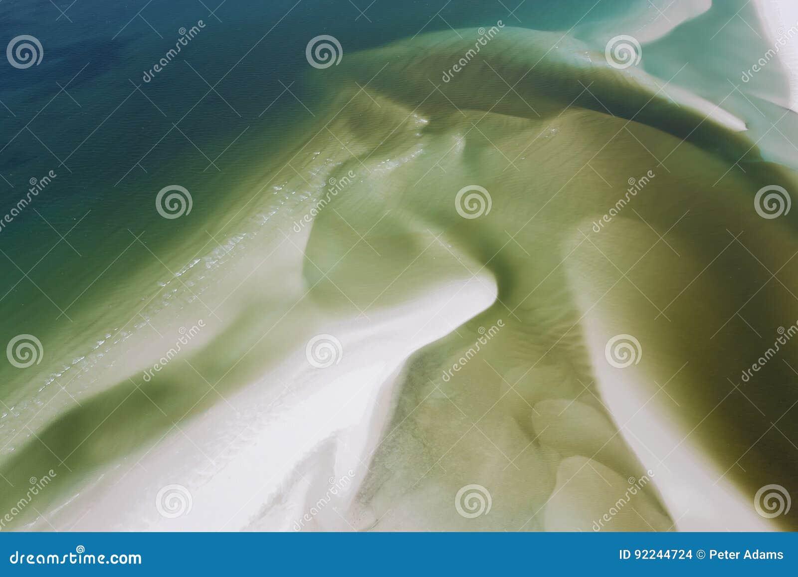 Overzees & zoet water die strand behandelen