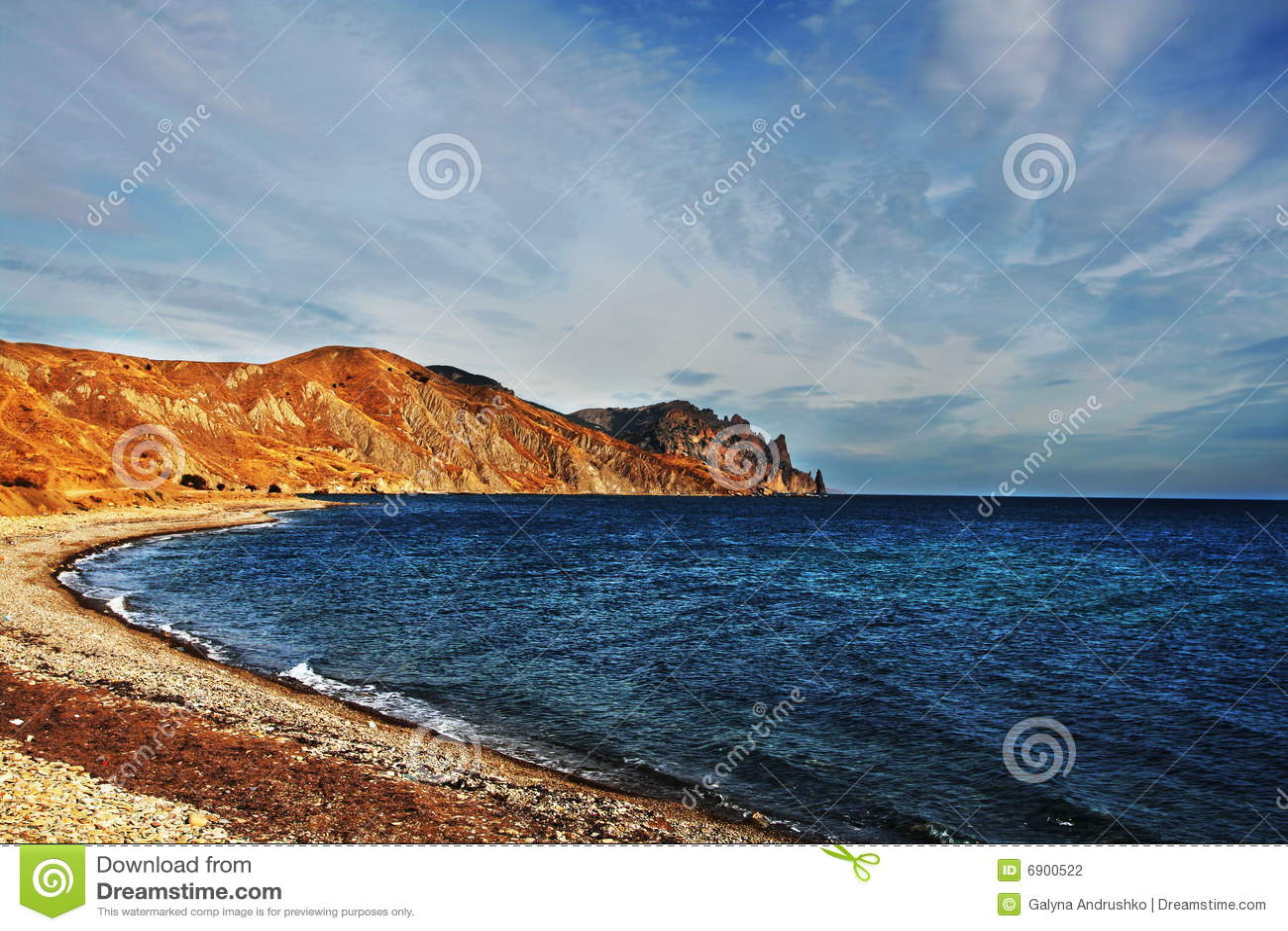 Overzeese kust