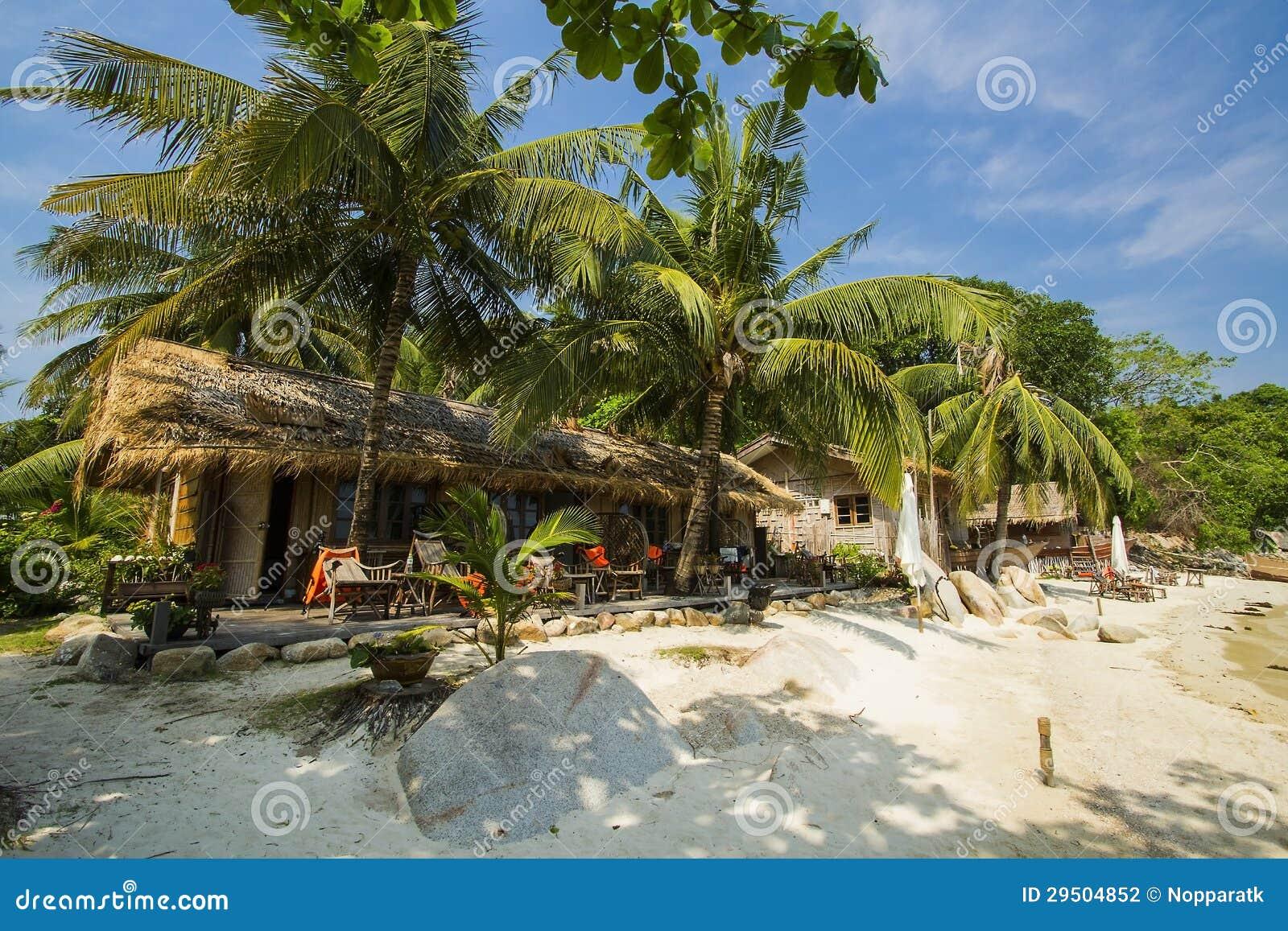 Overzeese Strand en Vakantie in Eiland Munklang