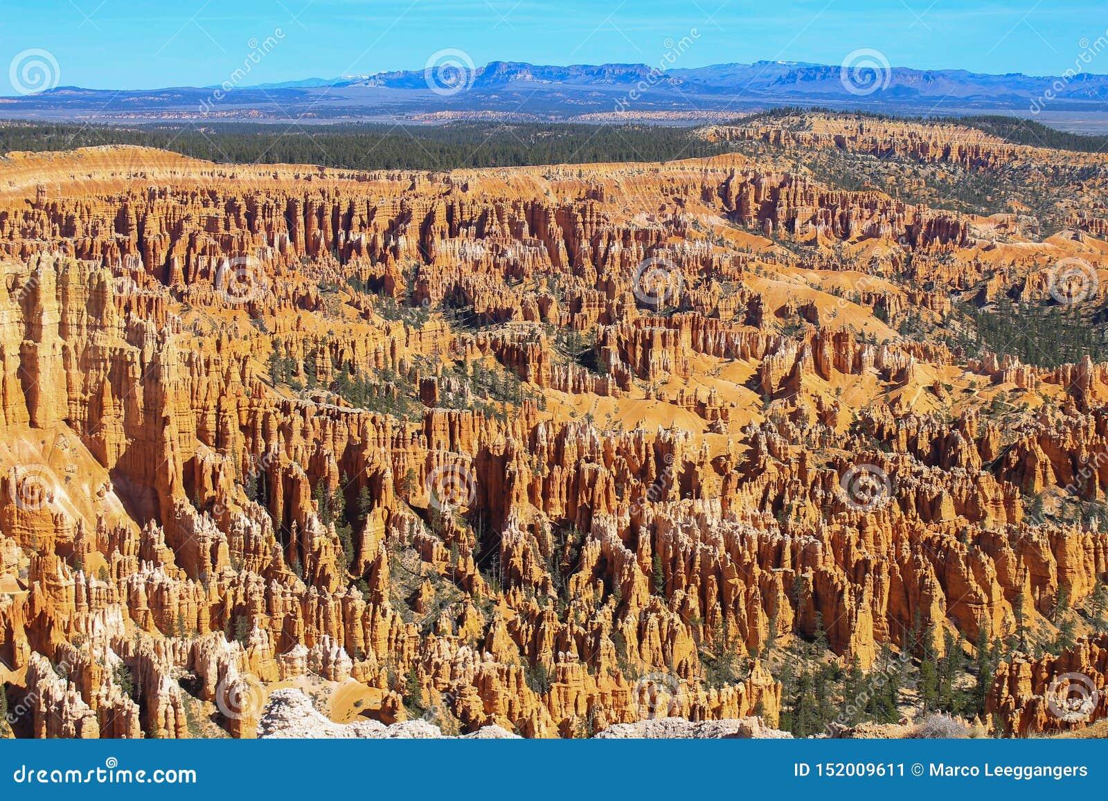 Overzicht van Bryce Canyon