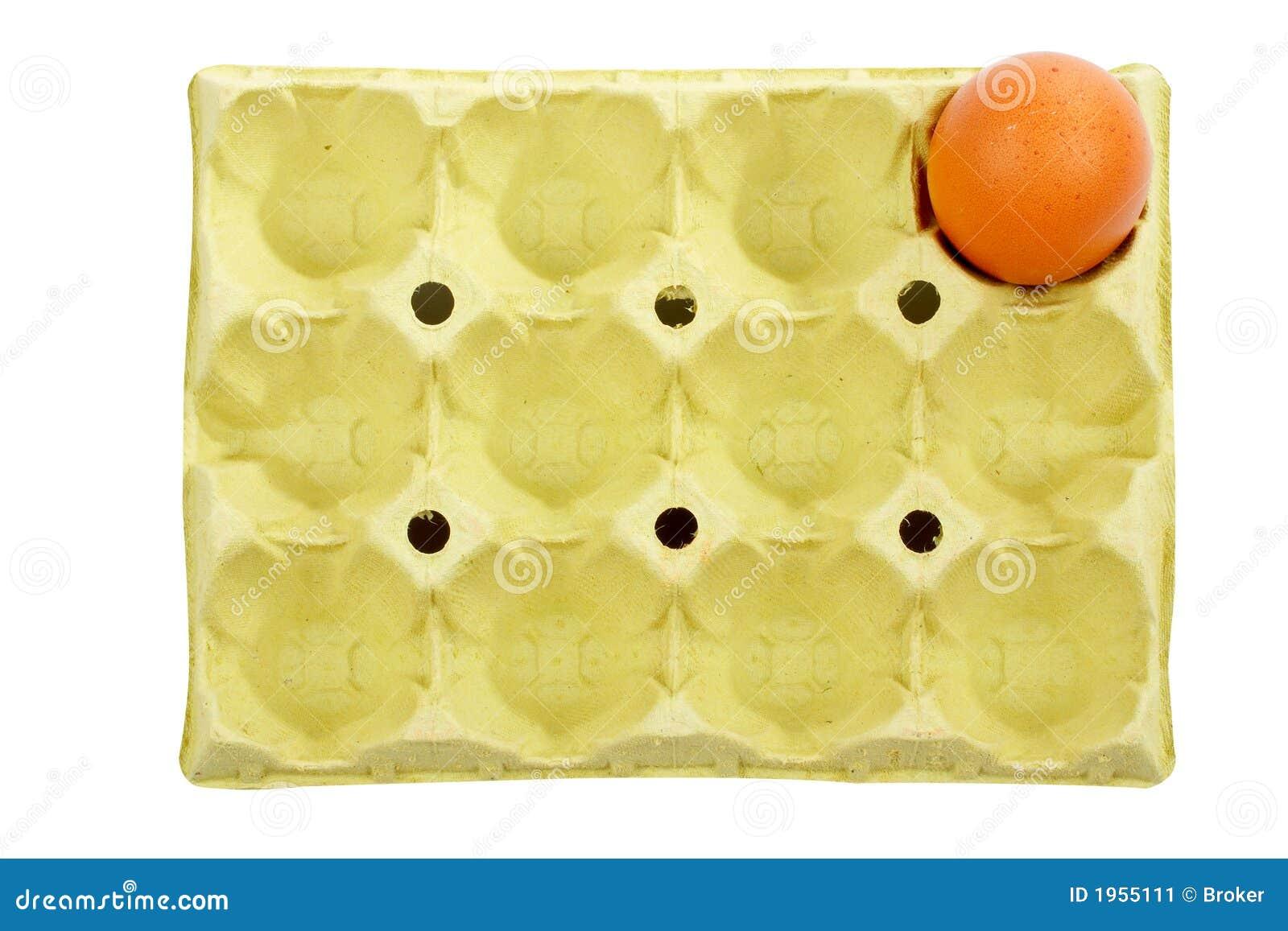 Ovo em uma caixa