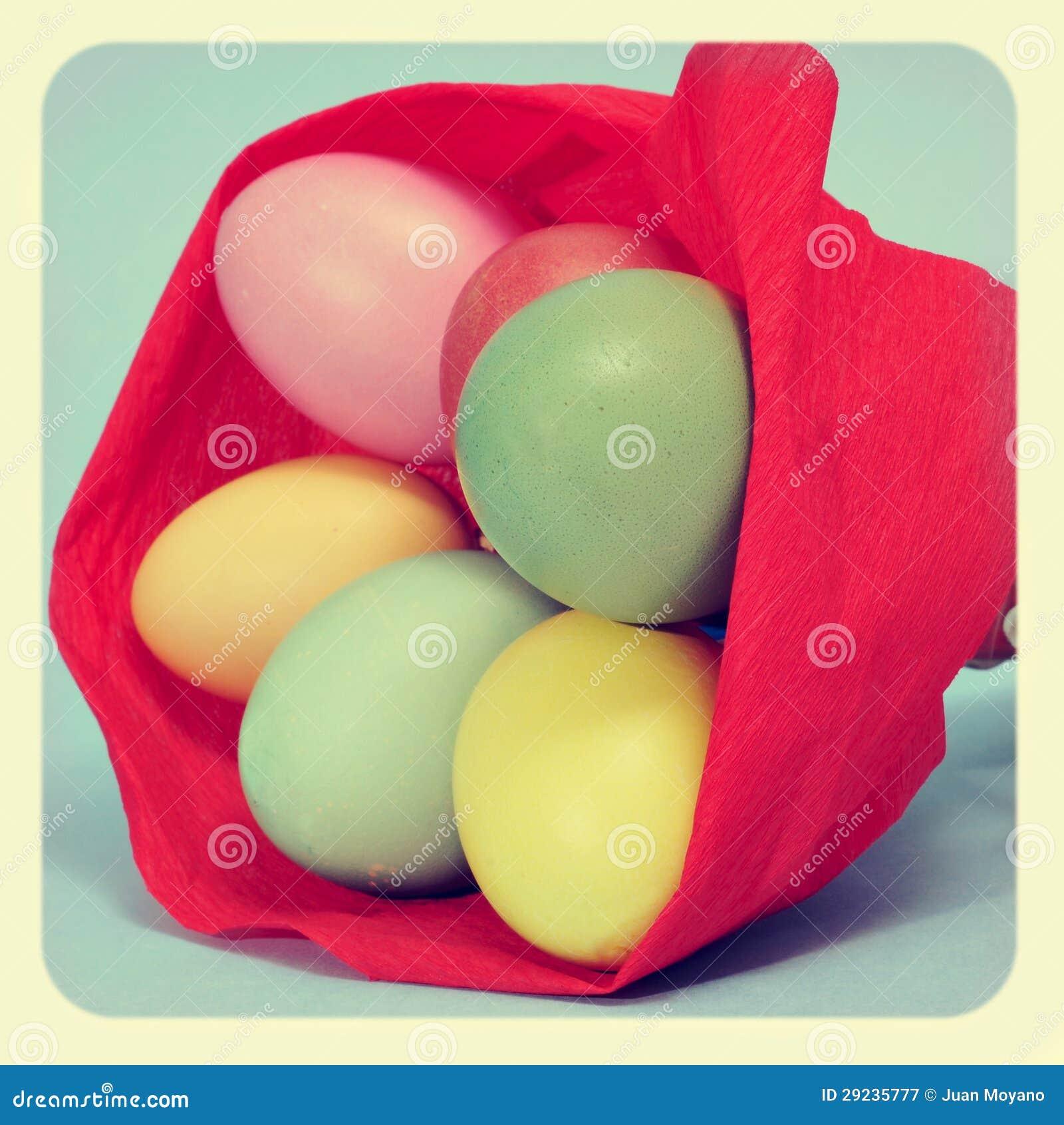Download Ovos da páscoa imagem de stock. Imagem de pintado, customized - 29235777