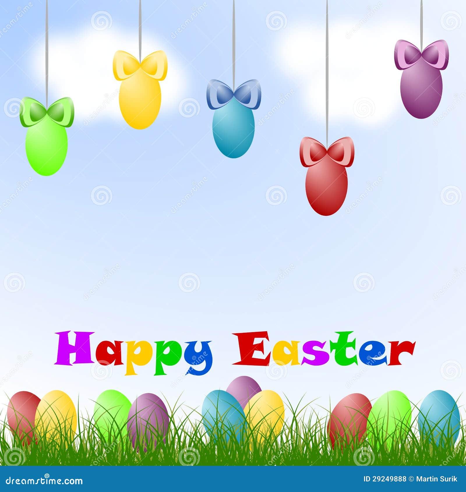 Download Ovos da páscoa ilustração stock. Ilustração de comemore - 29249888