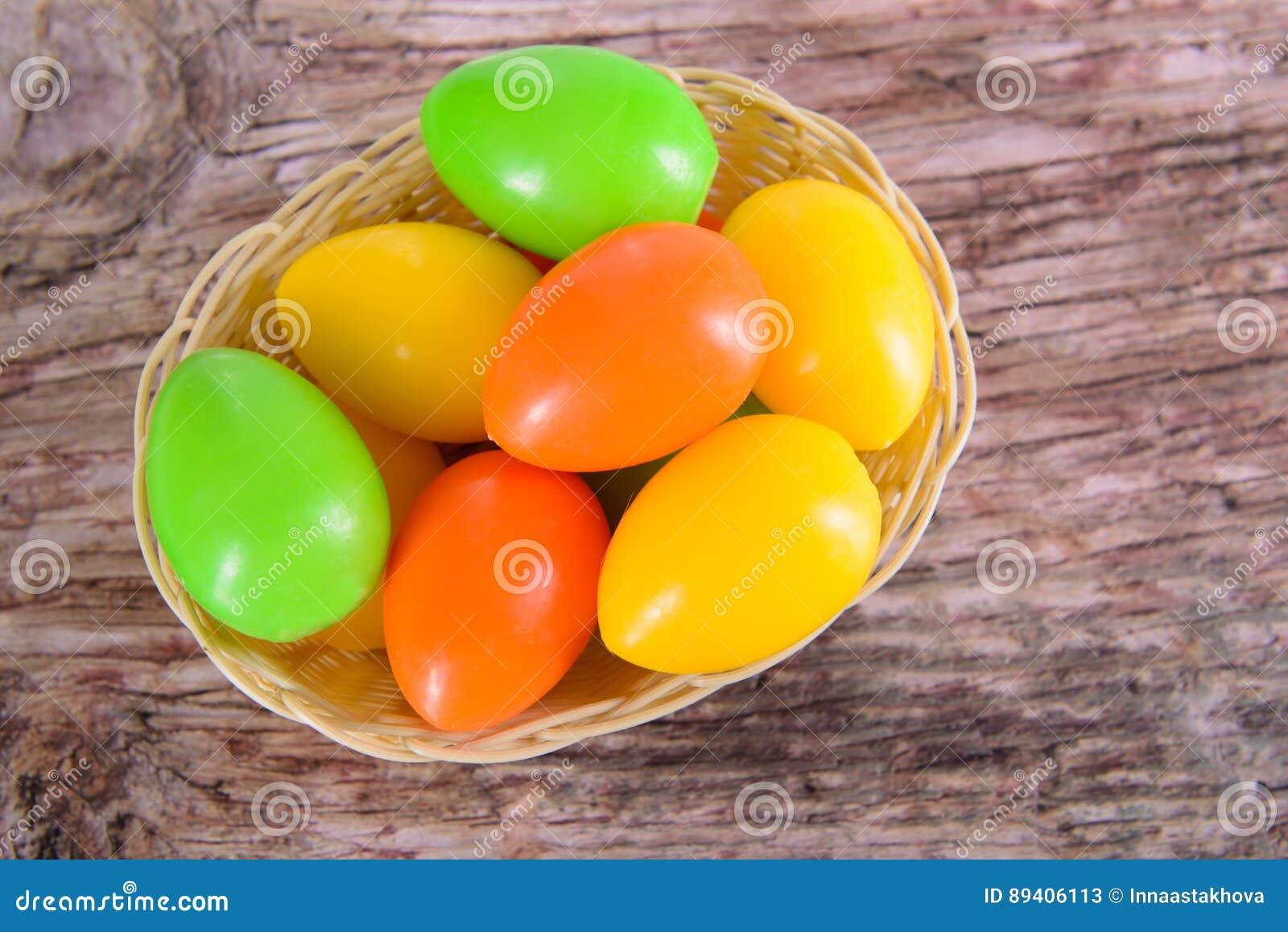 Ovos da páscoa para o feriado cristão