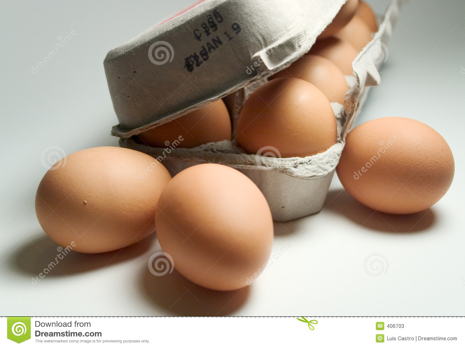 Ovos de dúzia Brown