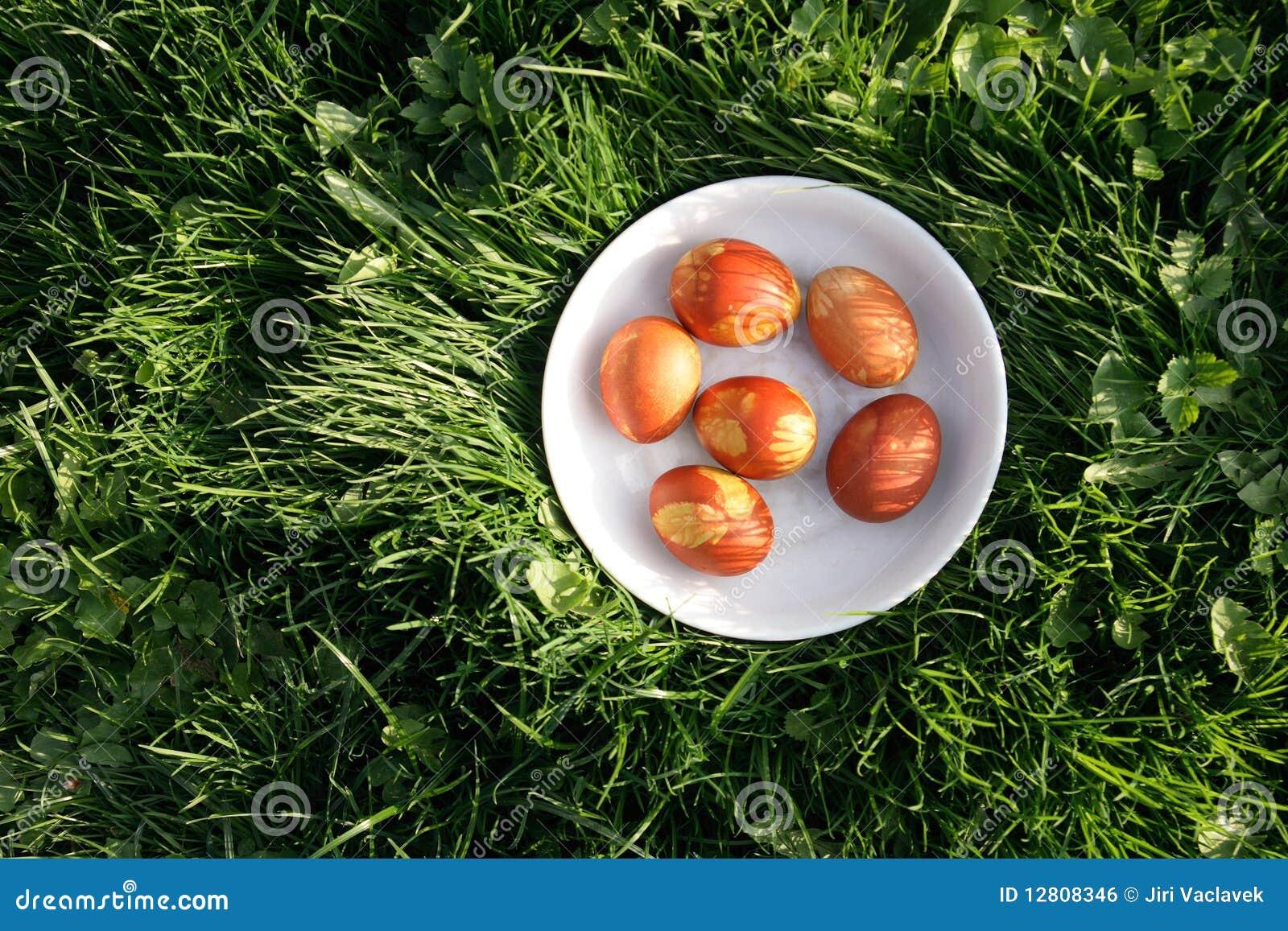 Ovos de easter coloridos