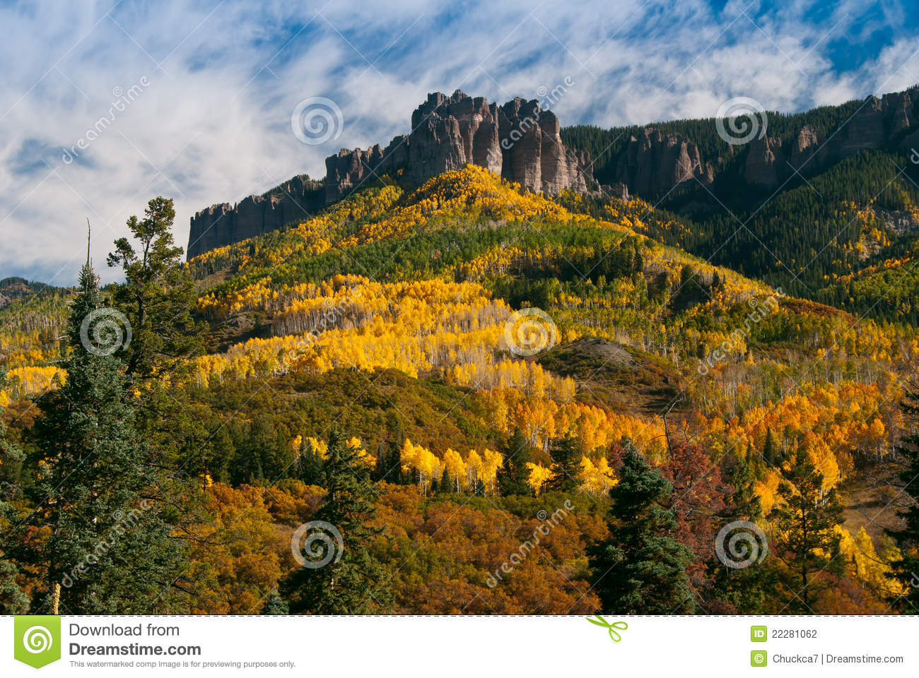 Owl Creek Pass In Autumn Stock Photography Image 22281062