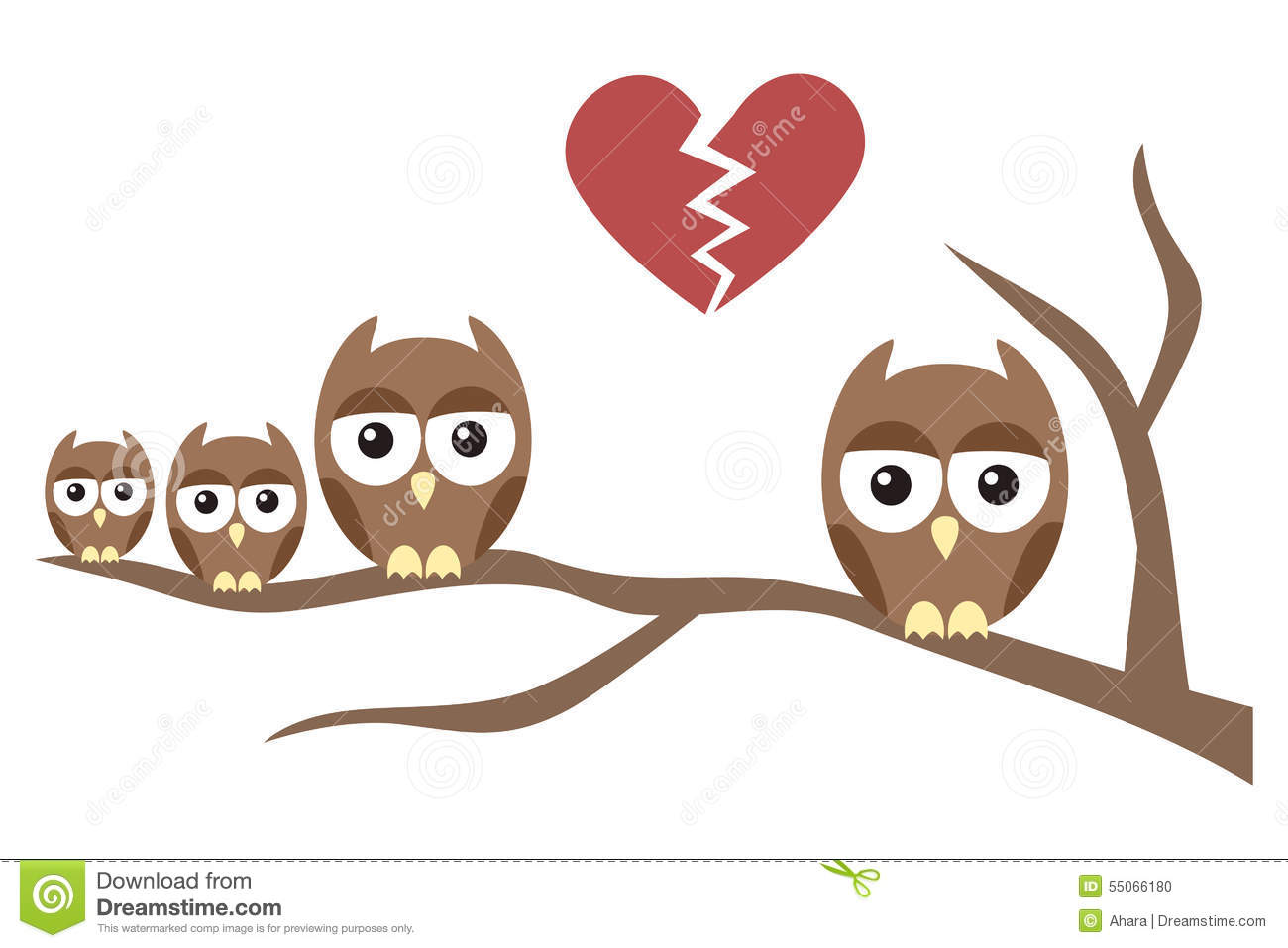Owl Family Divorce