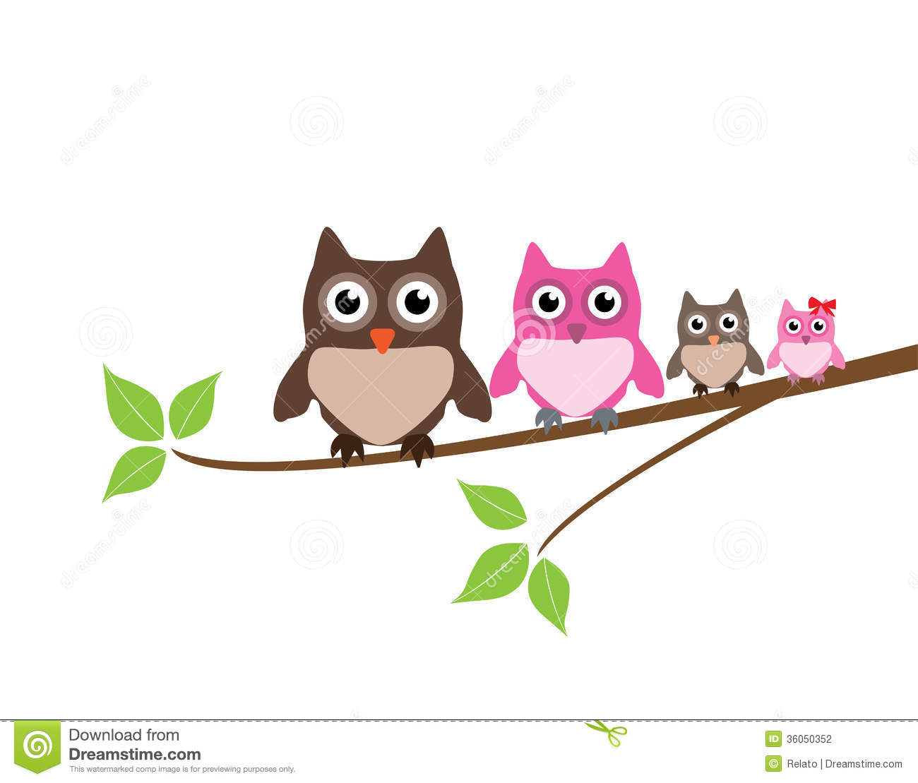 owl family stock vector illustration of wise  cute owl with glasses images clip art Cartoon Owl