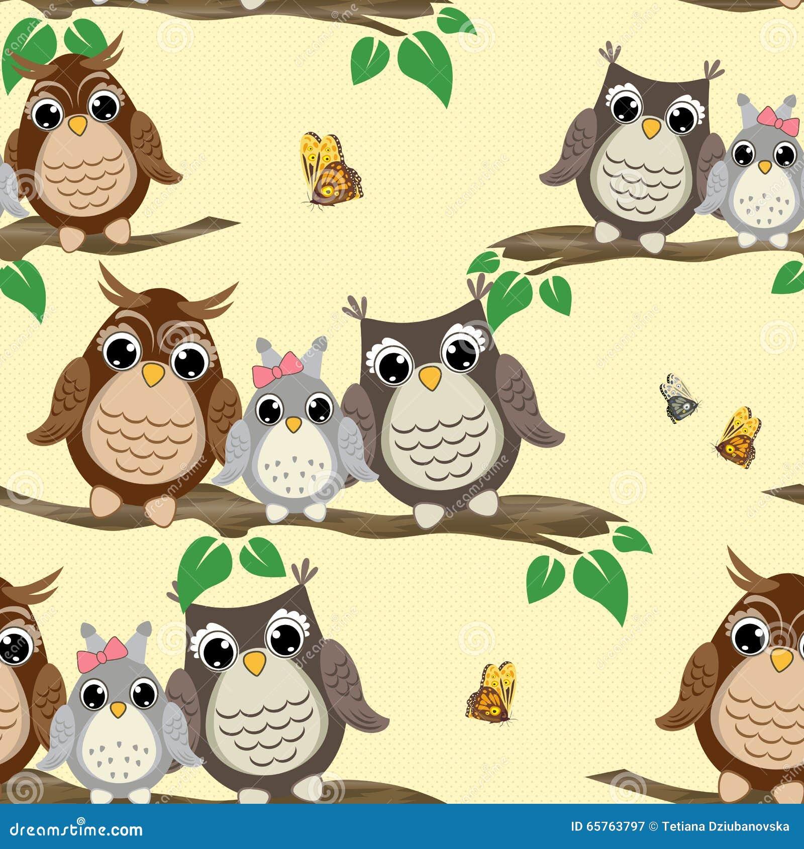 cute owls background wwwpixsharkcom images galleries