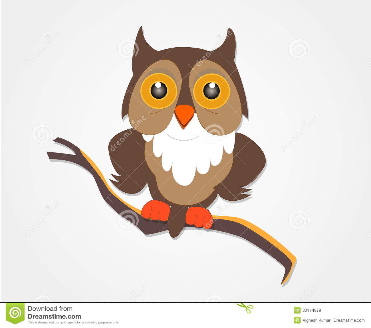 Tattoo Designs Vignesh: Owl Royalty Free Stock Photos