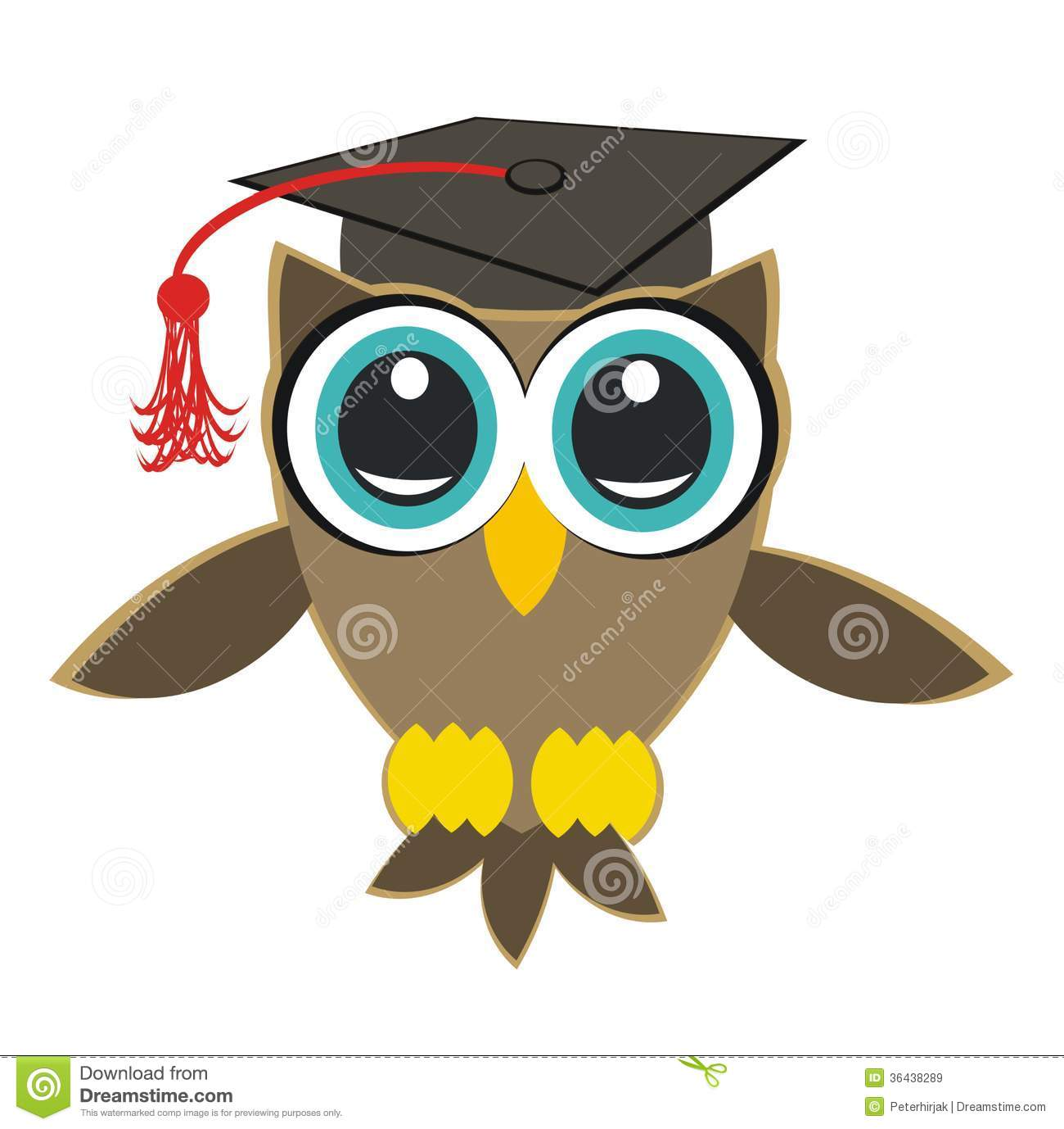 Owl Student Royalty Free Stock Images - Image: 36438289