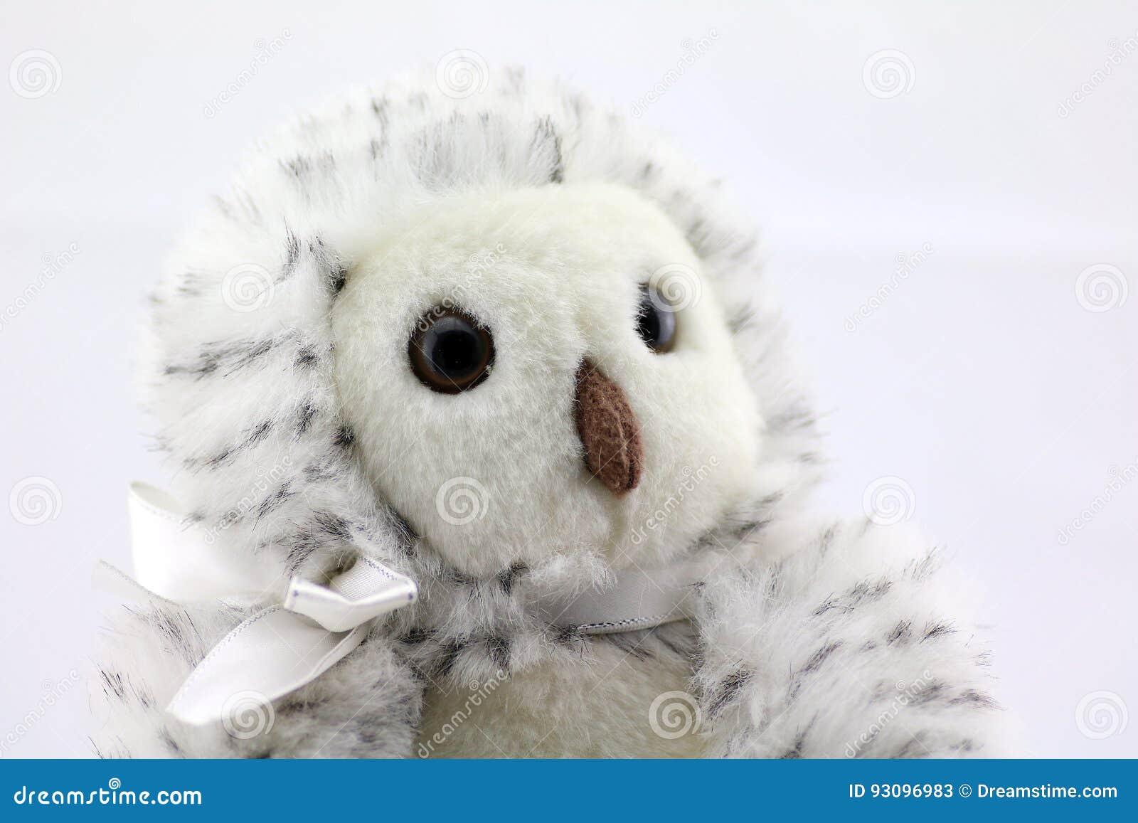 Owl Stuffed Animal Stock Image Image Of Animal Adorable 93096983