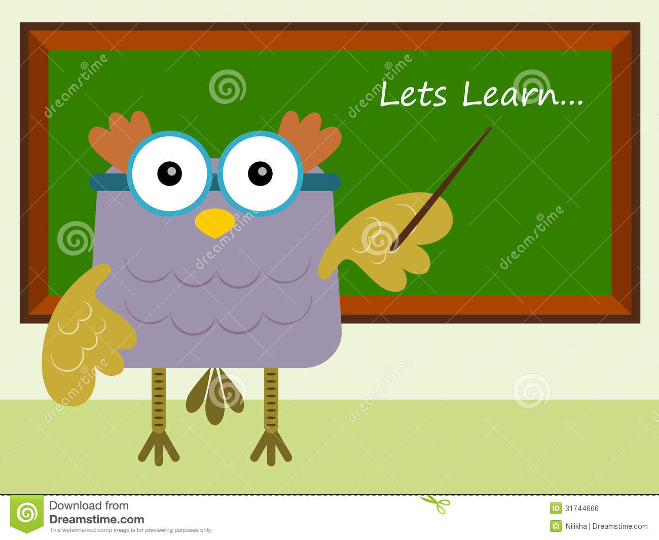 owl-teacher-cartoon-illustration-prefessor-teaching-front-blackboard    Owl Teacher Cartoon