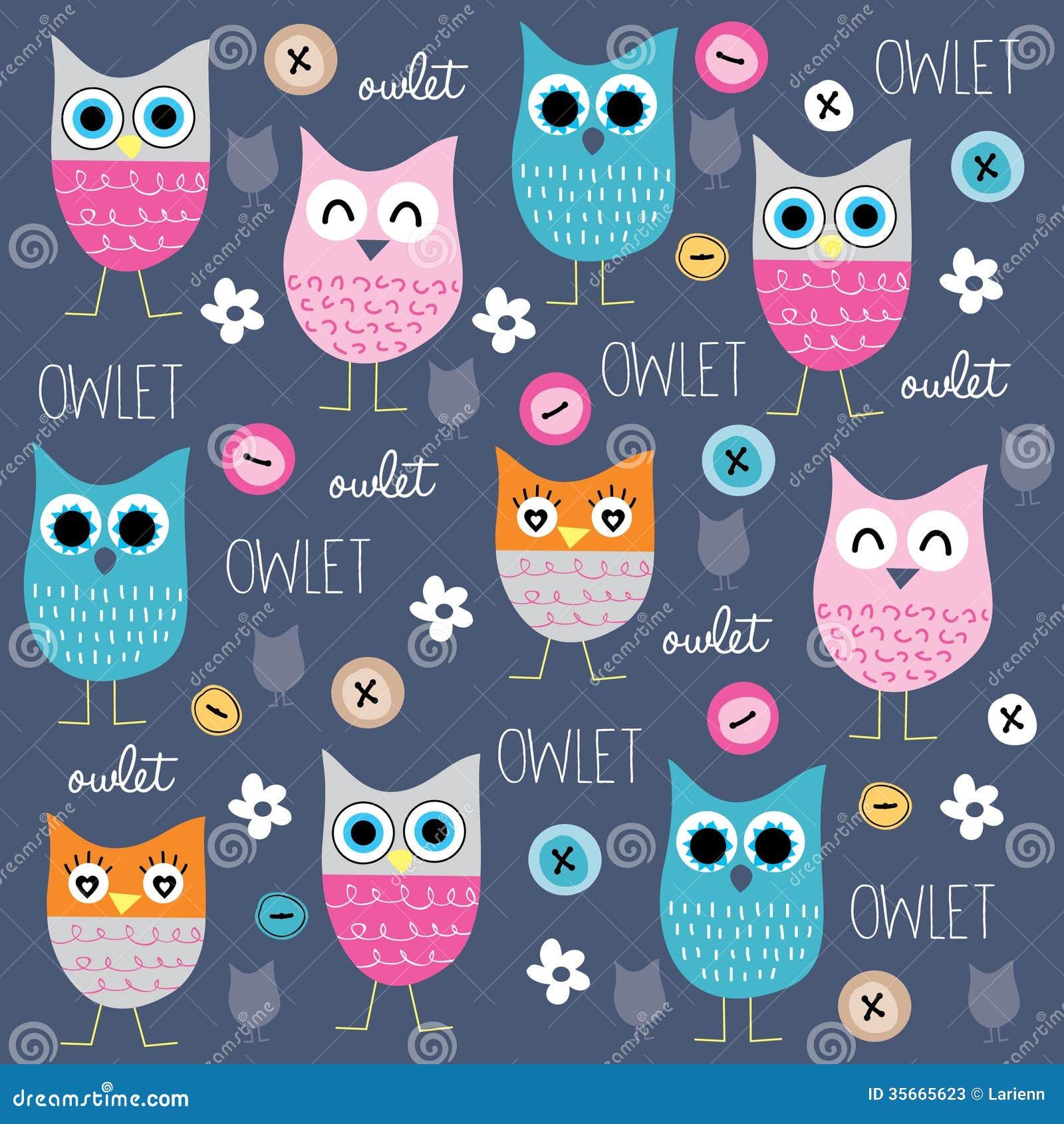 Owlet stock vector illustration of childish design 35665623 download comp voltagebd Image collections