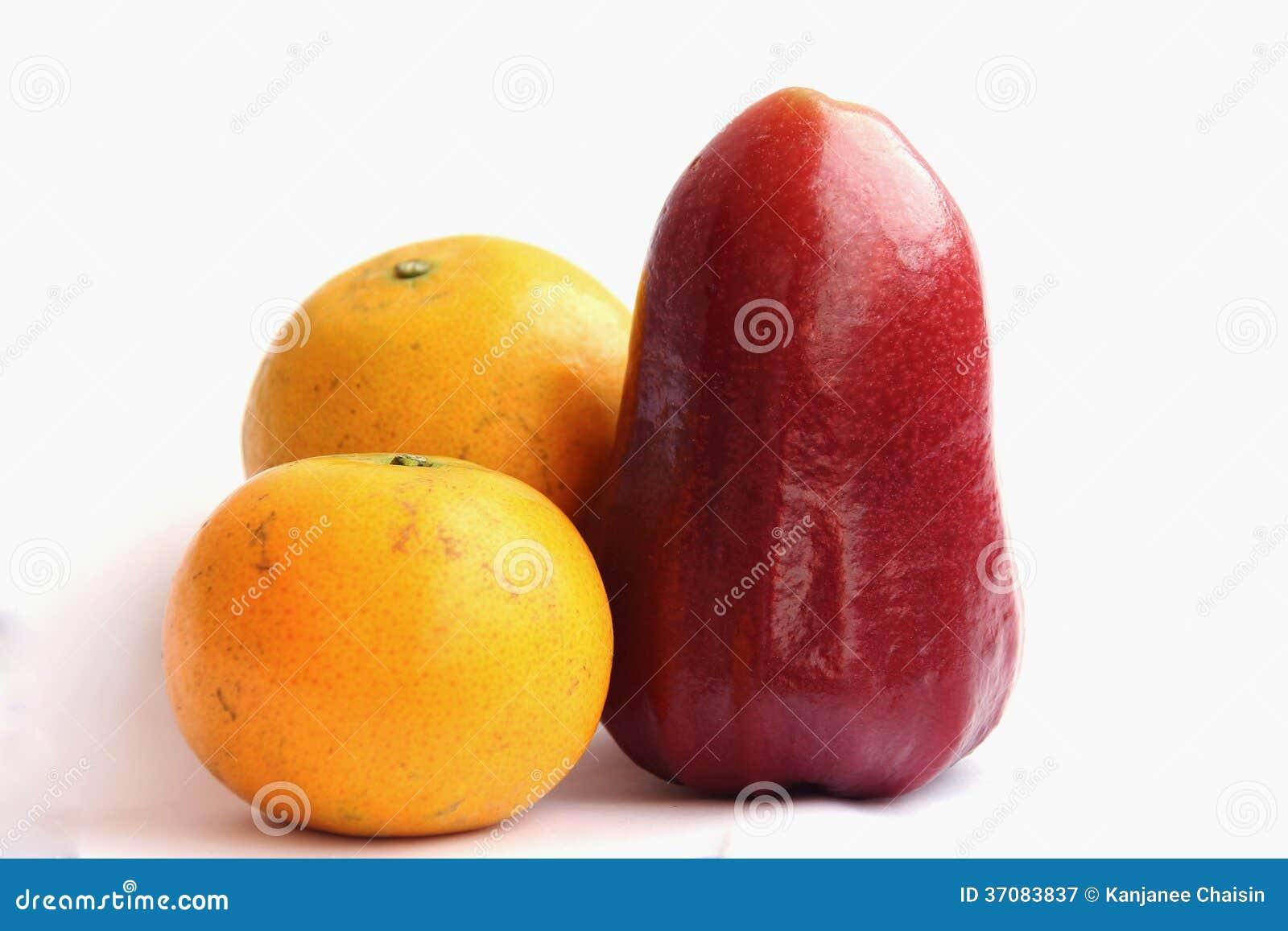 Download Owoc obraz stock. Obraz złożonej z pomarańcze, tropikalny - 37083837