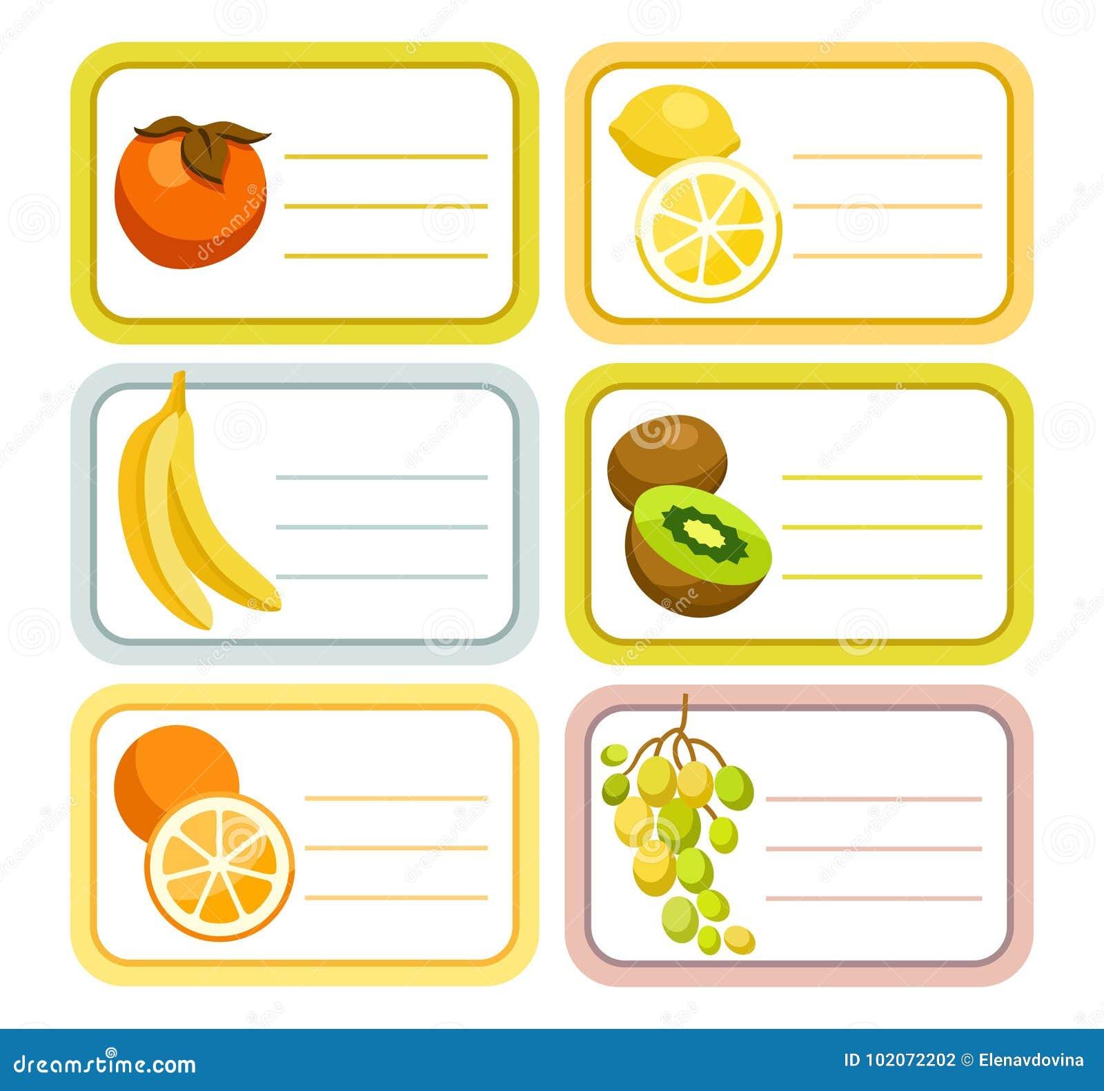 Owoc etykietki