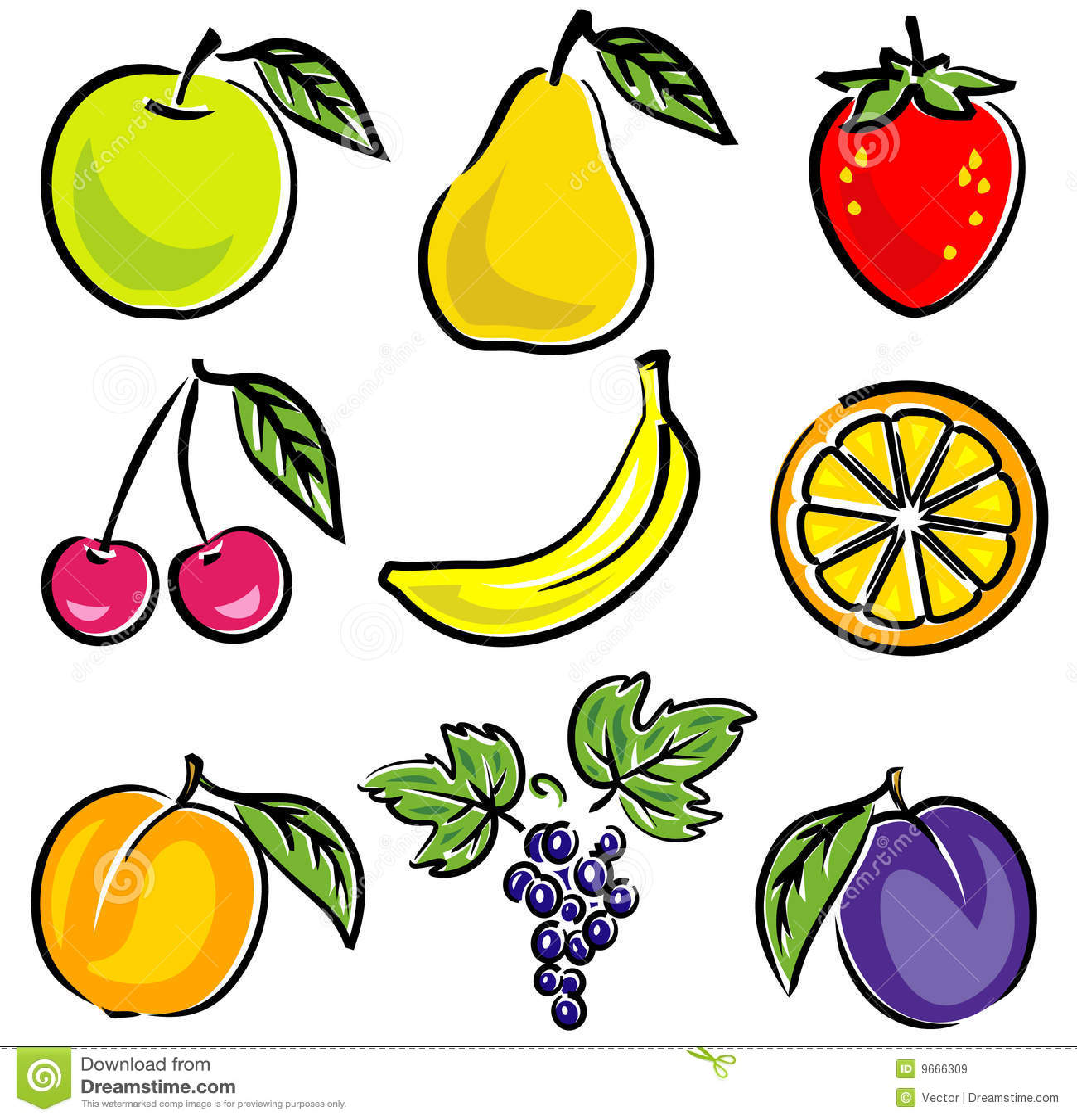 Owoc ilustraci wektor