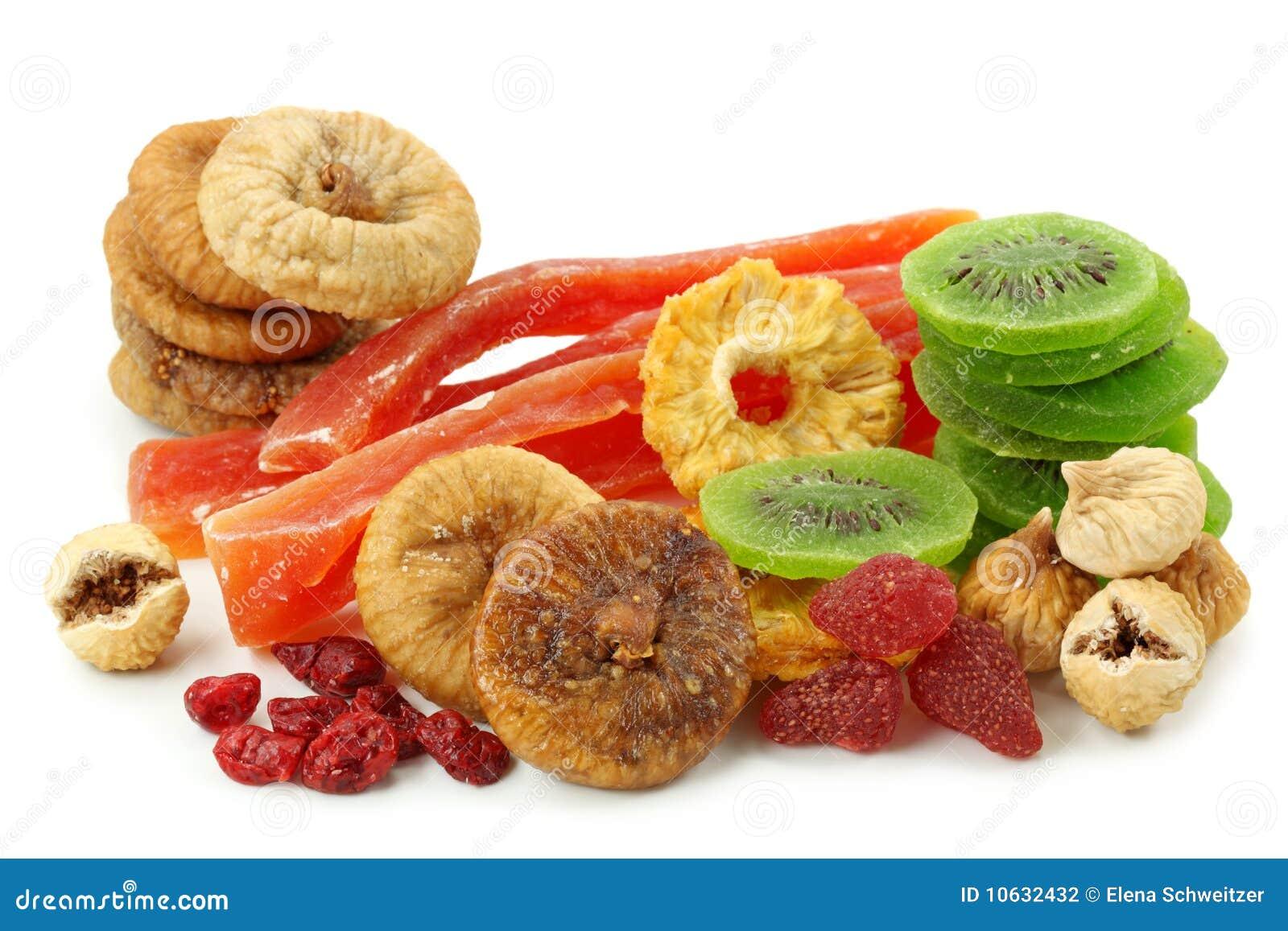 Owoc wysuszona mieszanka