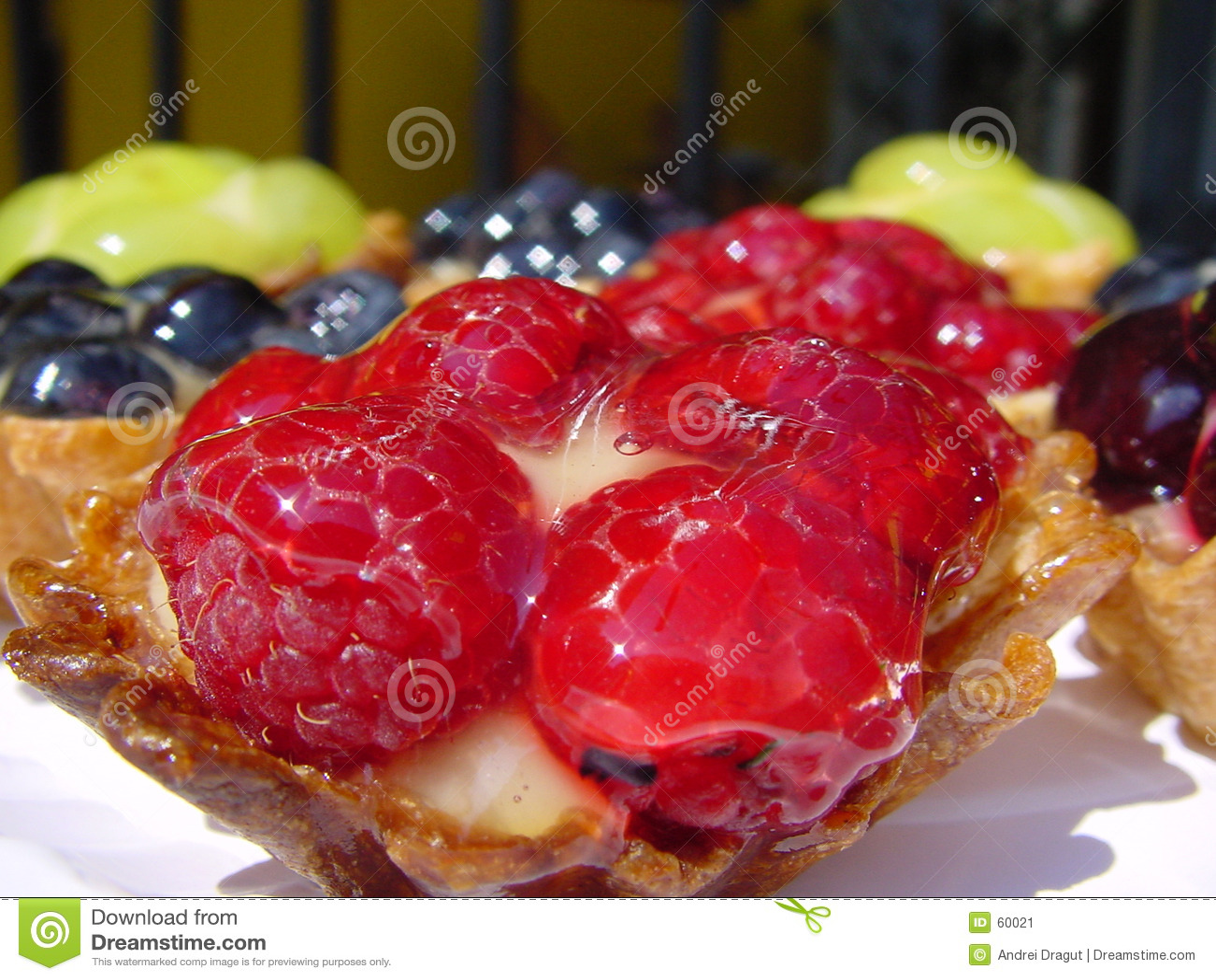 Owoce ciastek
