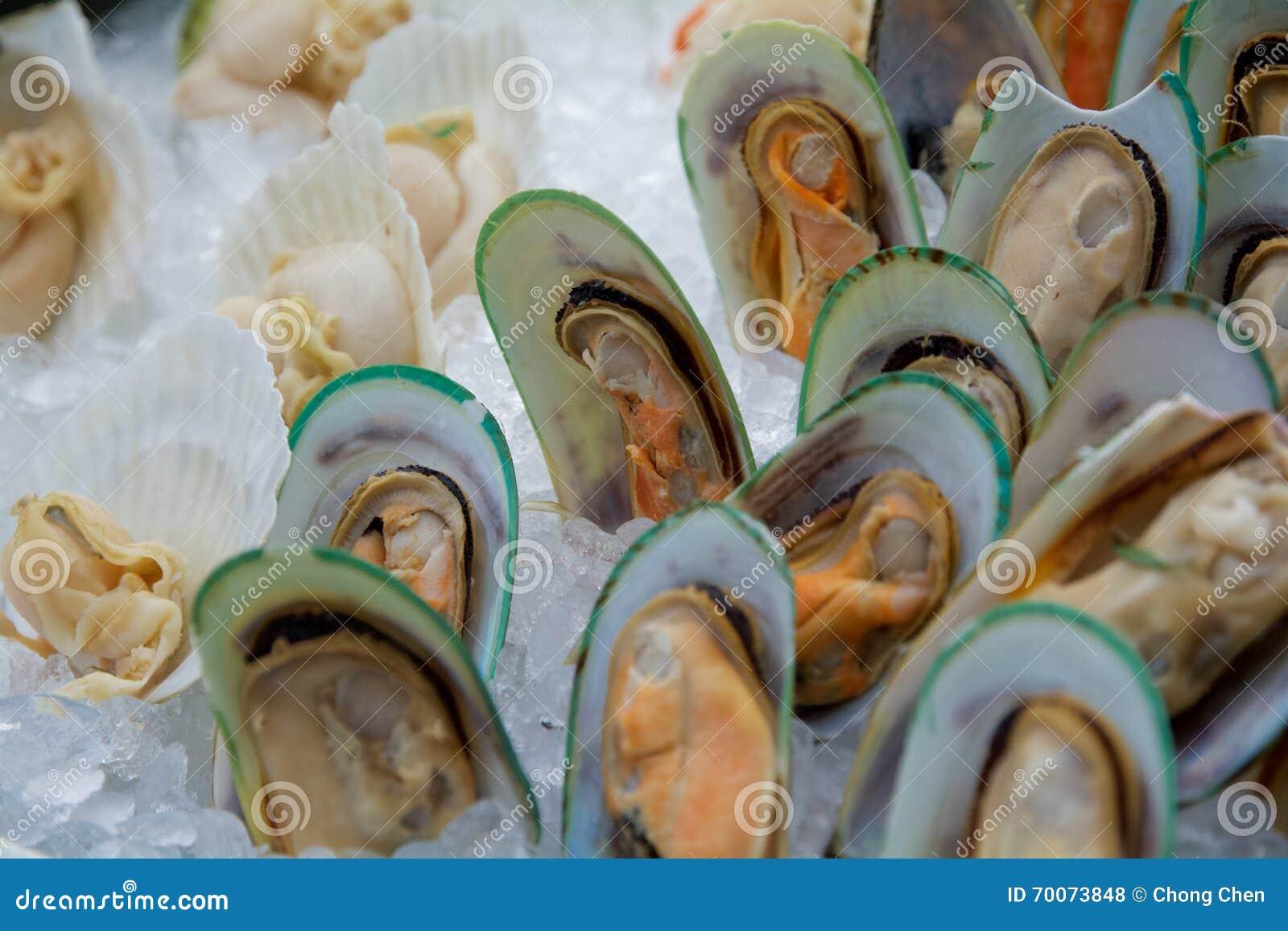 Owoce morza bufet