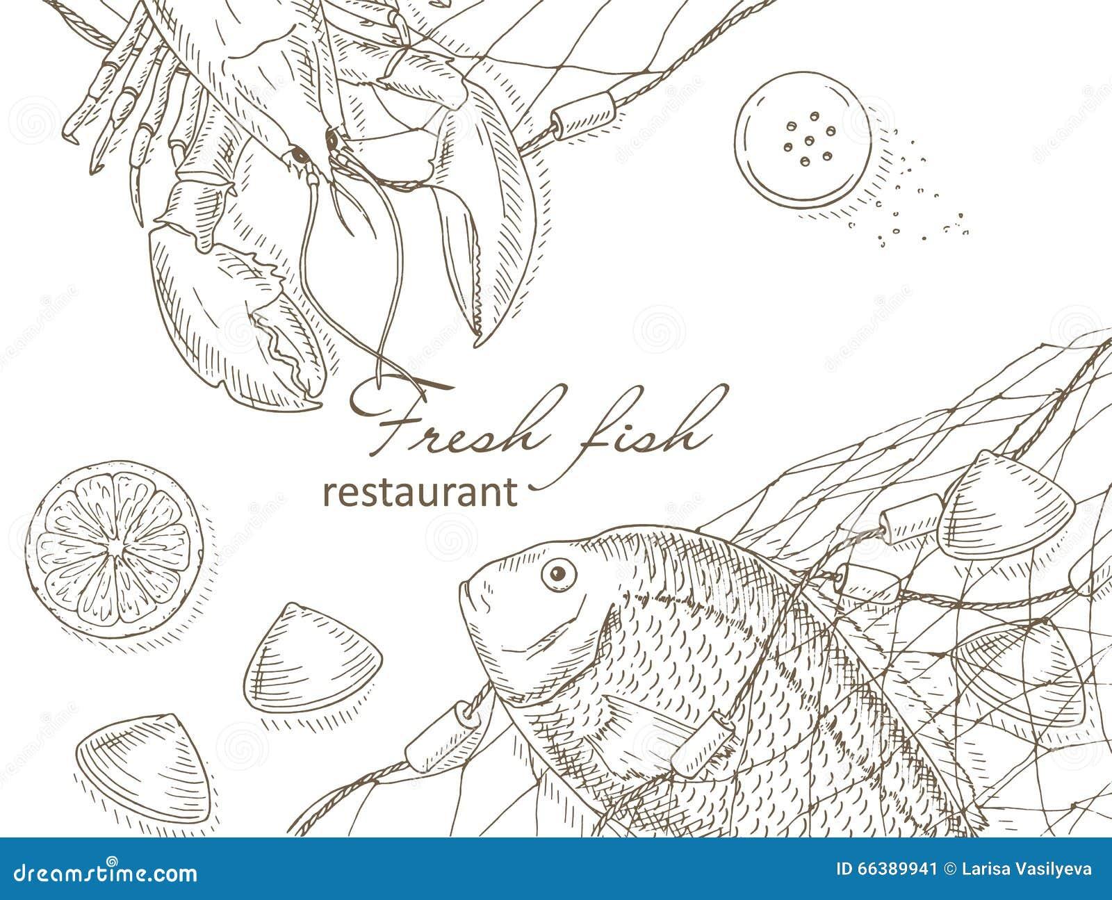 Owoce morza i ryba