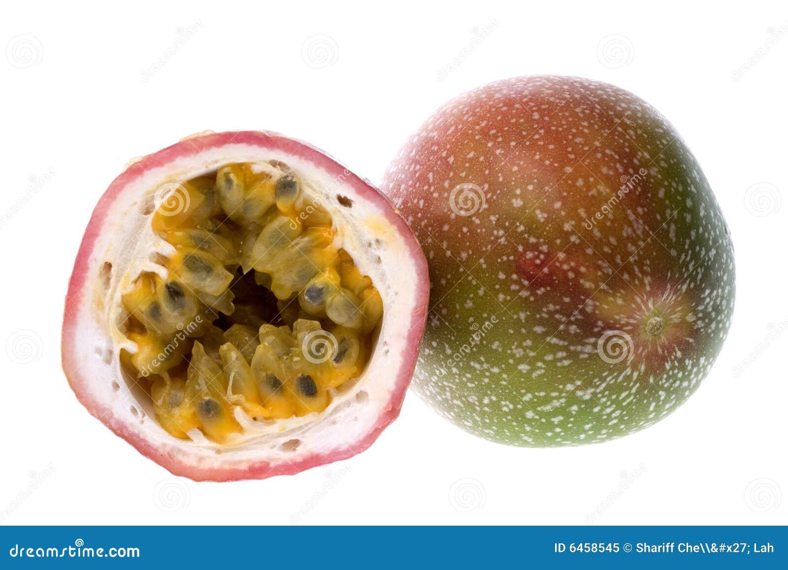 Owoce odizolowana pasji