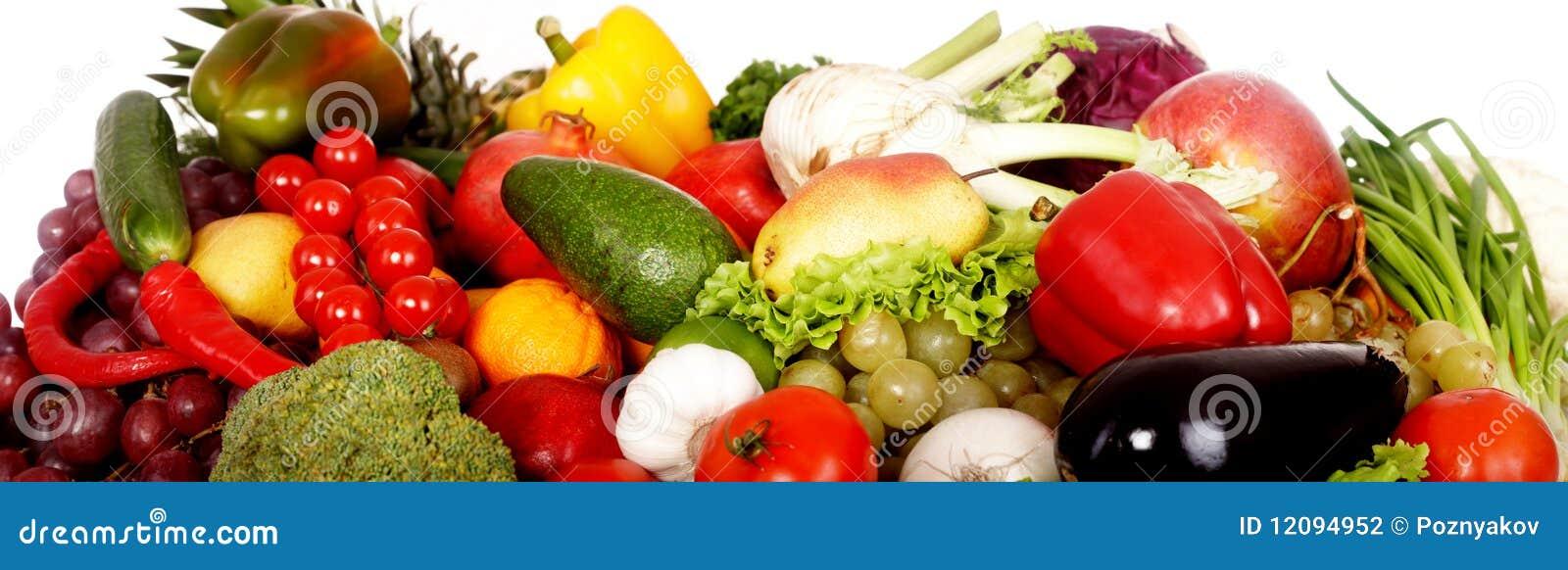 Owocowi grupowi warzywa