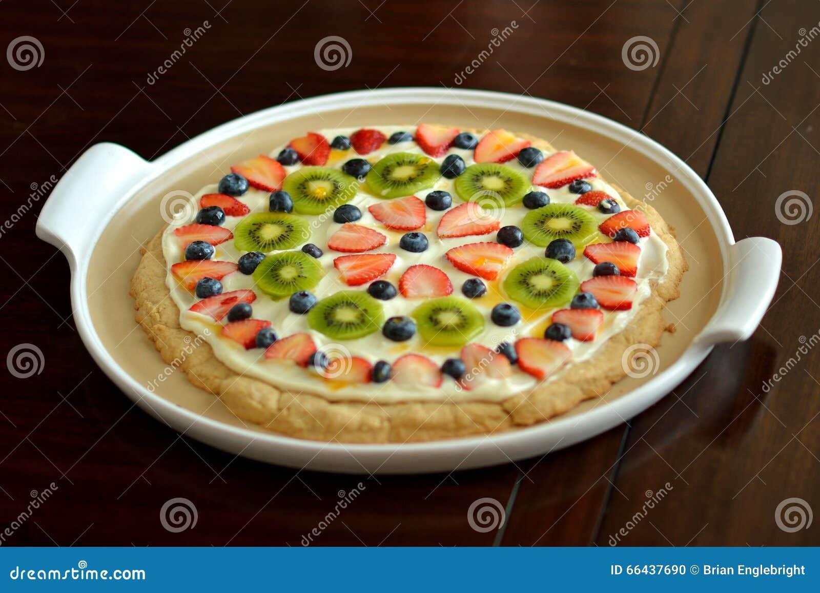 Owocowy Deserowy ciastko