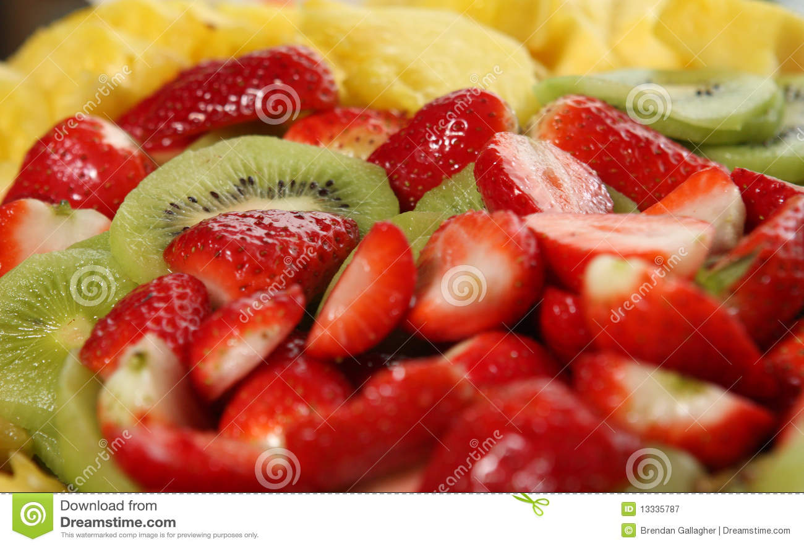 Owocowy półmisek